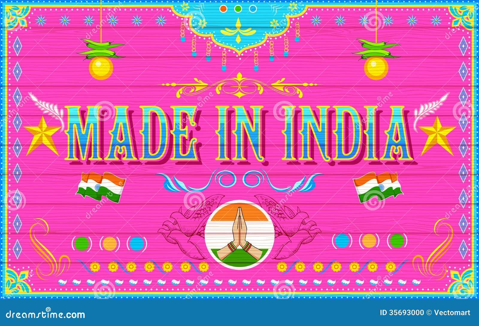 Robić w India tle