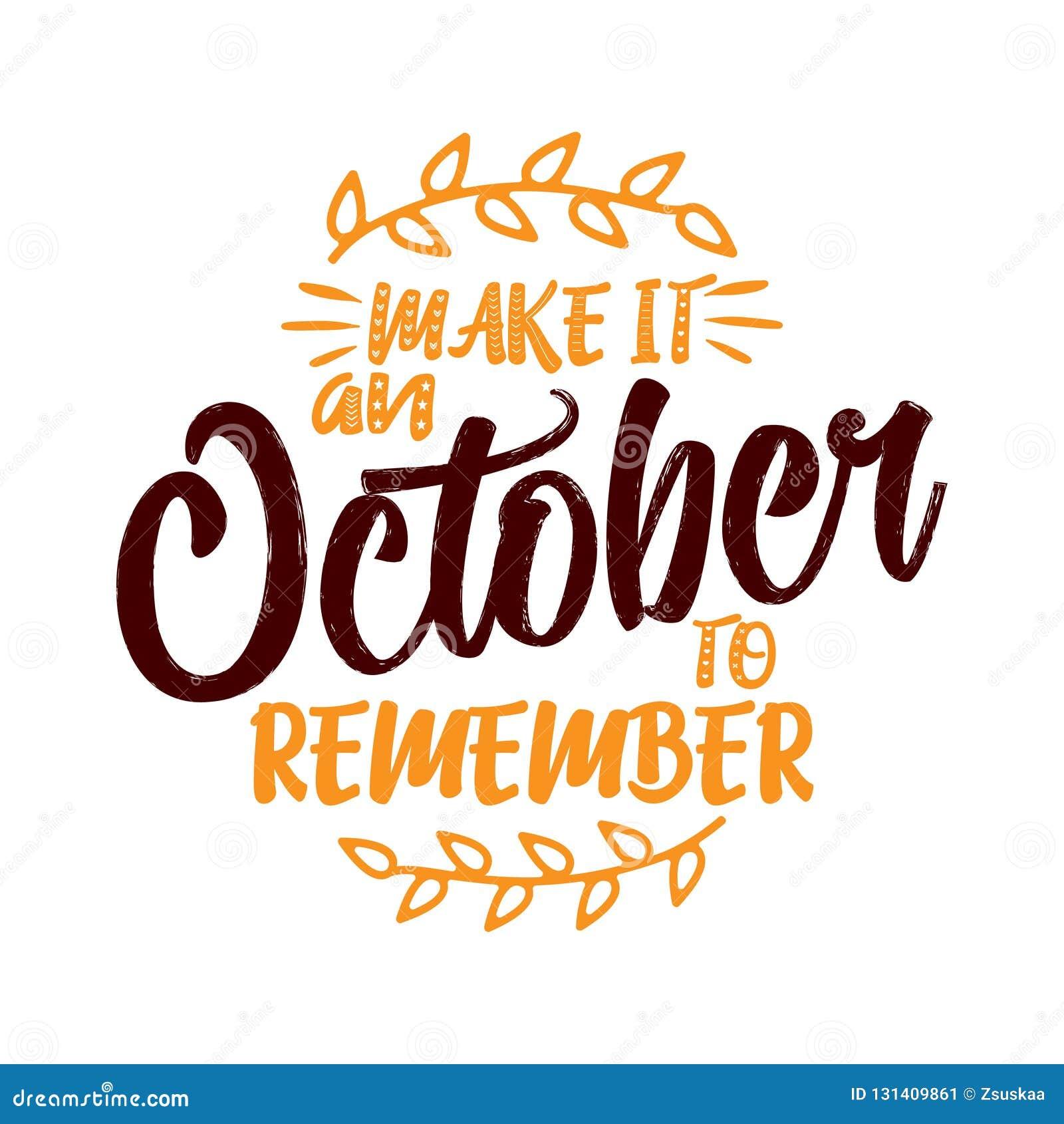 Robi mię Październikowi pamiętać