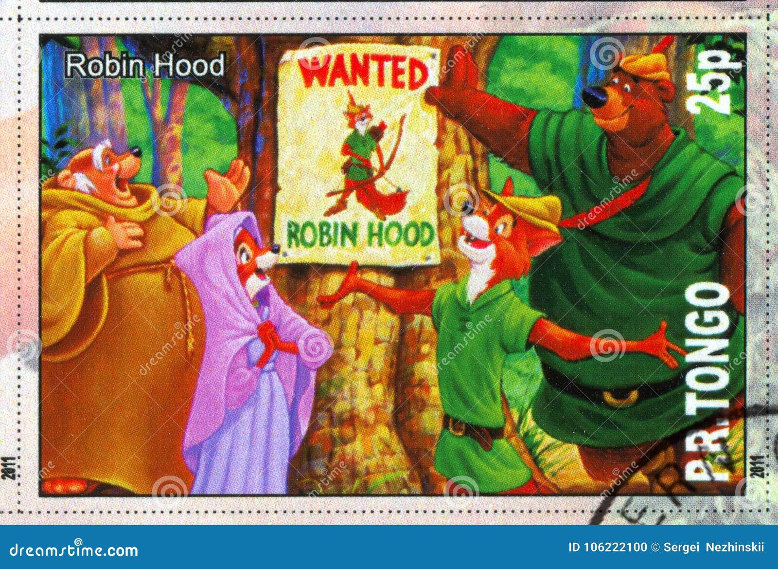 Robin Hood Editorial Image Image Of Philately Postcard 106222100