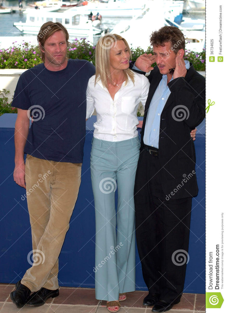 Robin Wright Penn,Sean Penn,Aaron Eckhart Editorial Photo ...