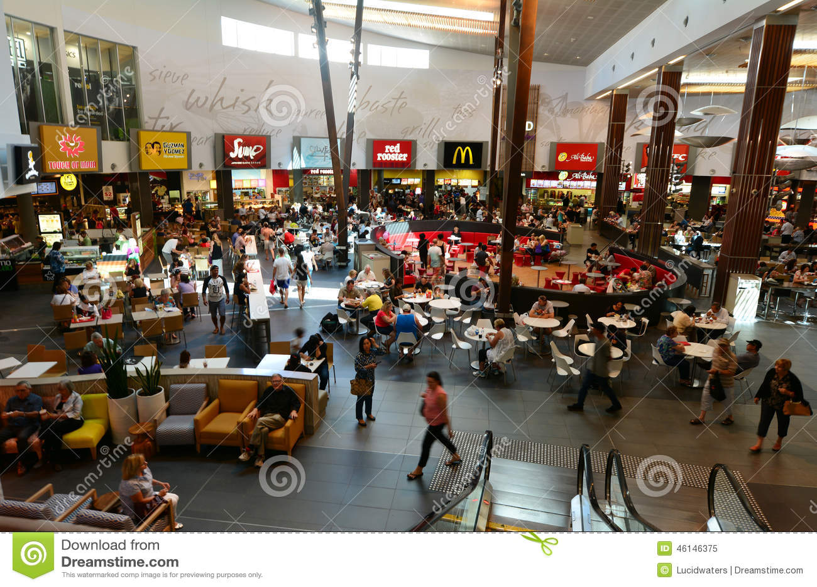 Robina town centre gold coast australia editorial image for Shopping cuisine