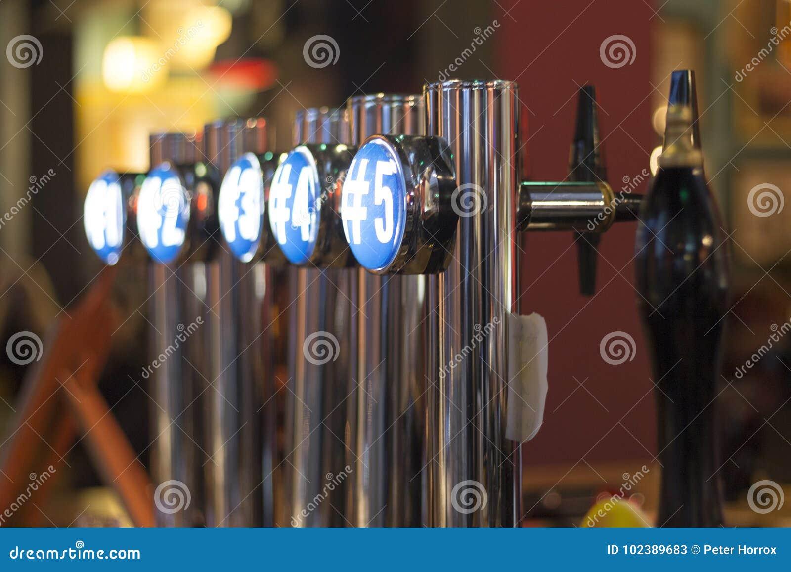 Robinets de bière