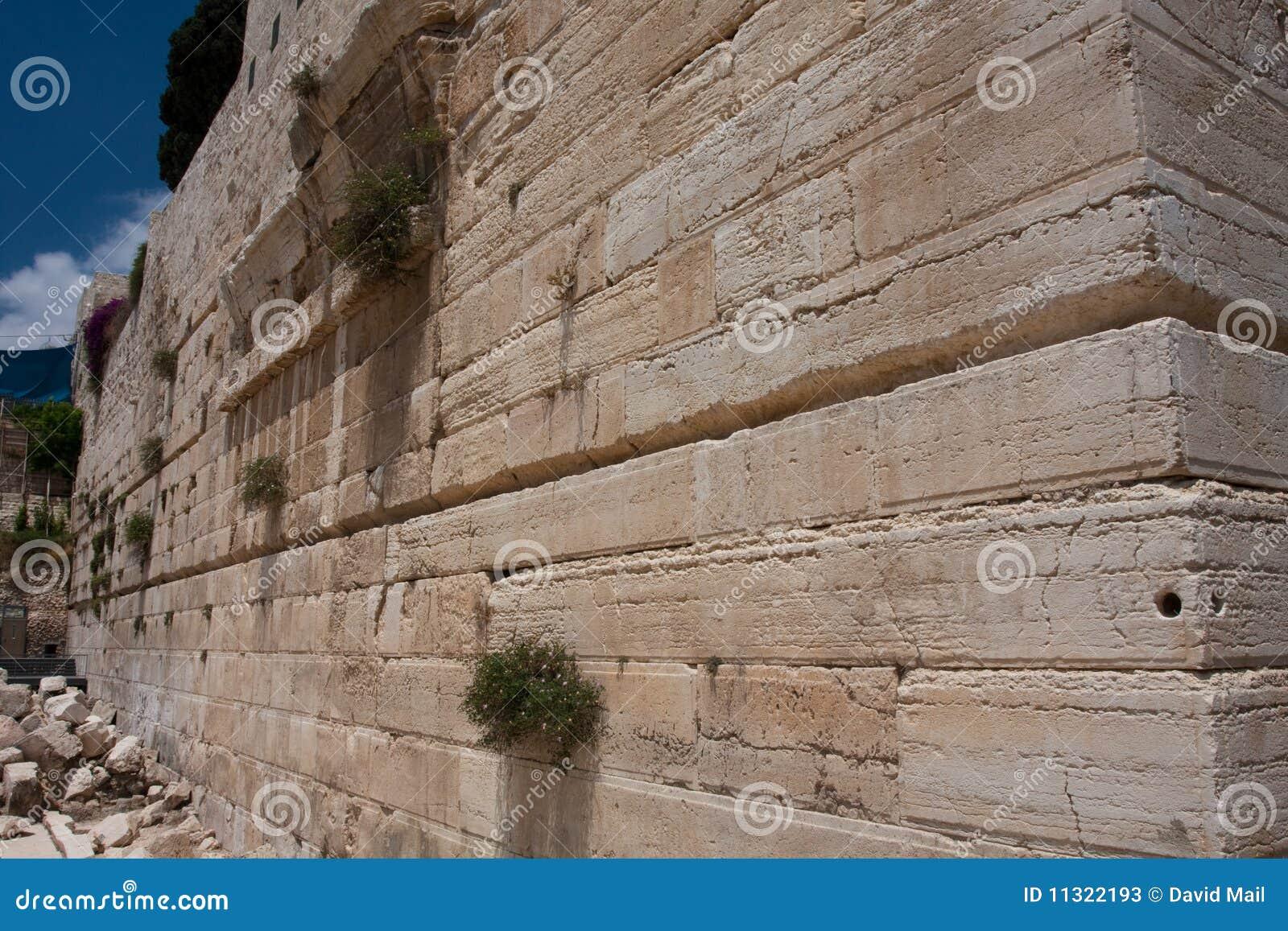Robinson-Lichtbogen, zweiter jüdischer Tempel, Jerusalem