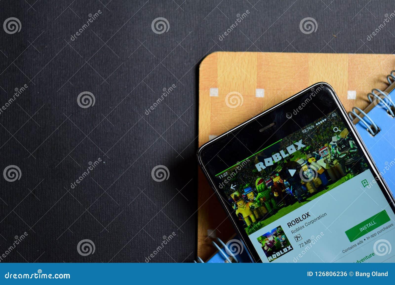 ROBLOX Dev App On Smartphone Screen  Editorial Photo - Image