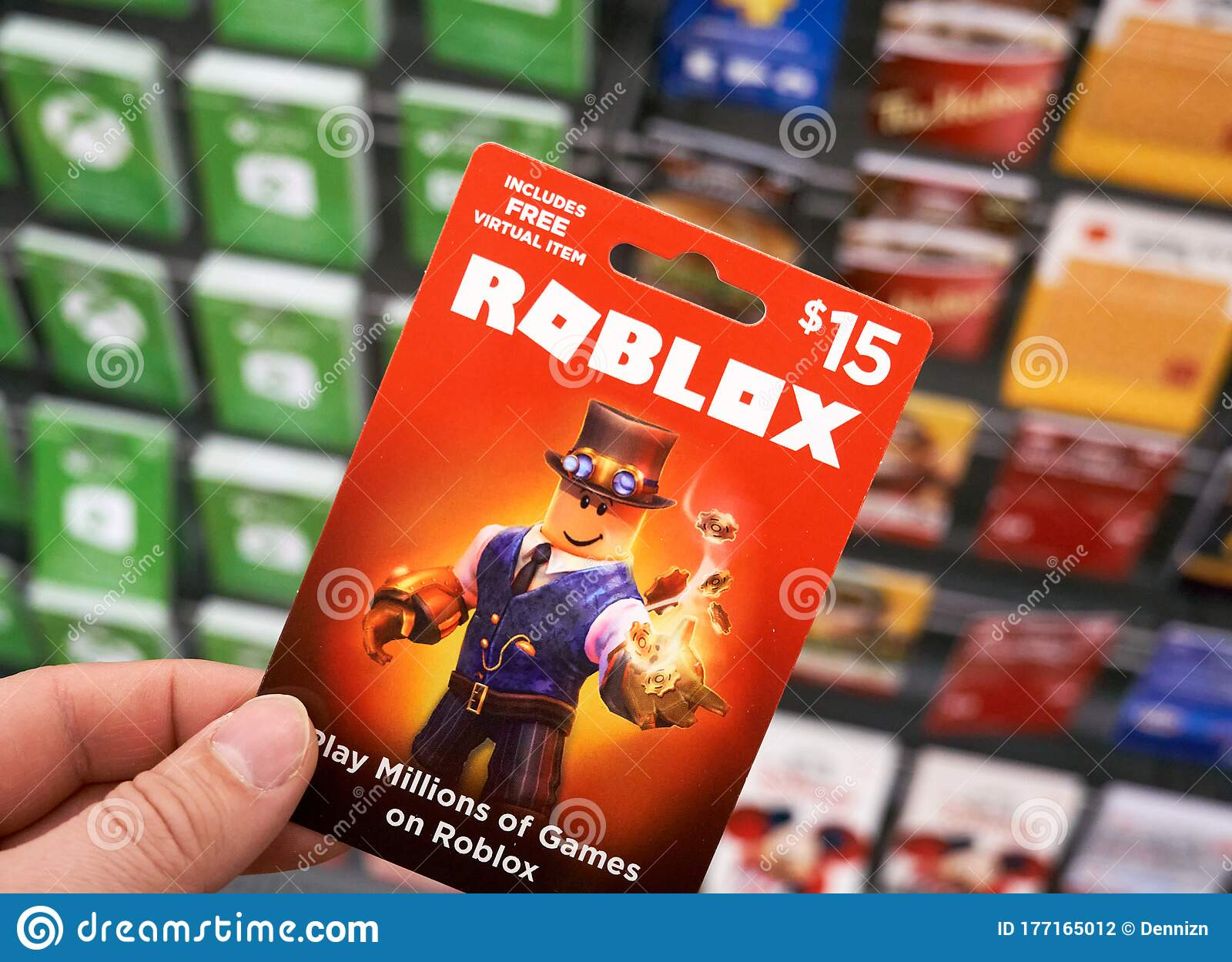 Roblox Games Game Card
