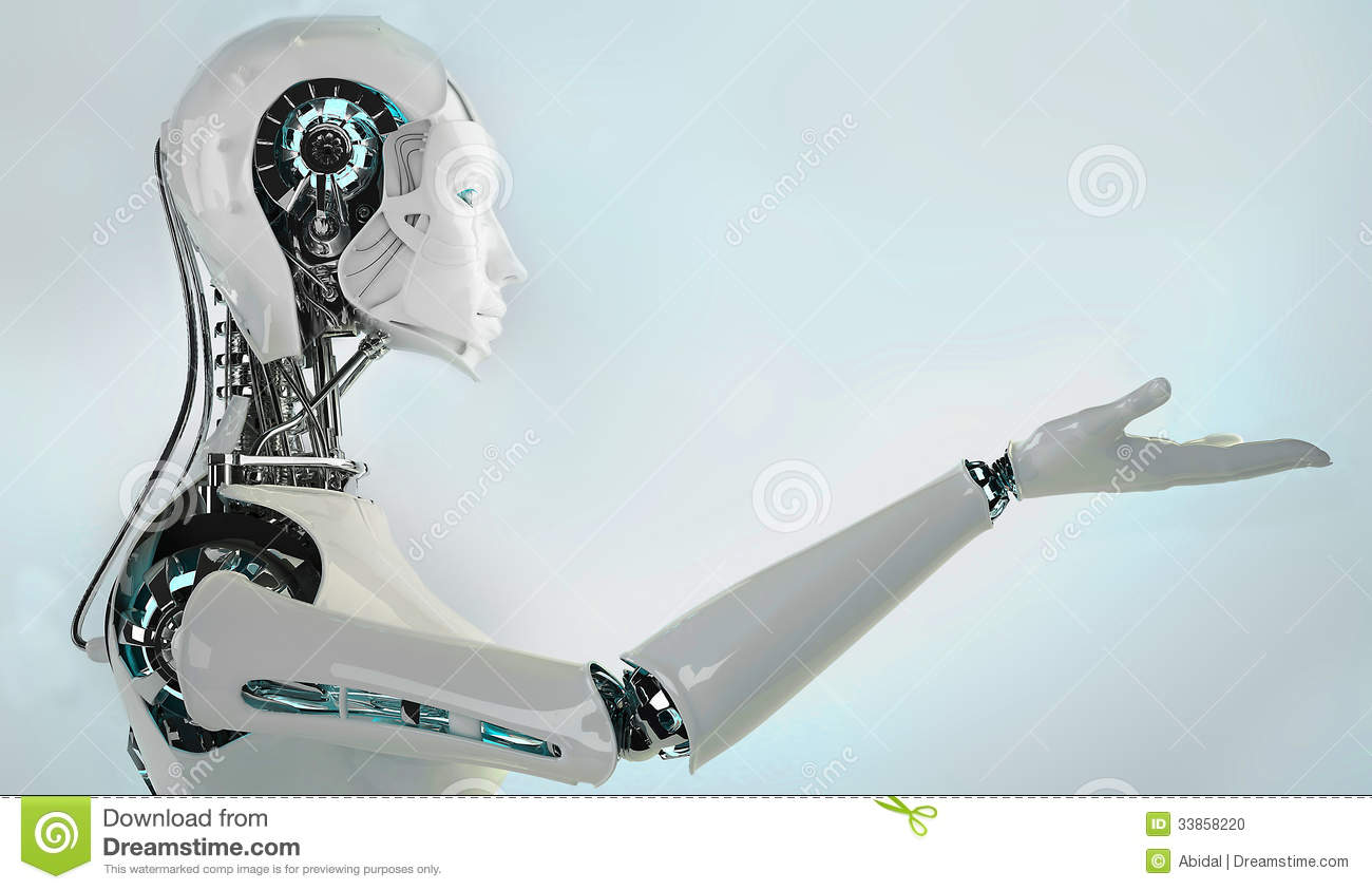 Robot androïde vrouwen