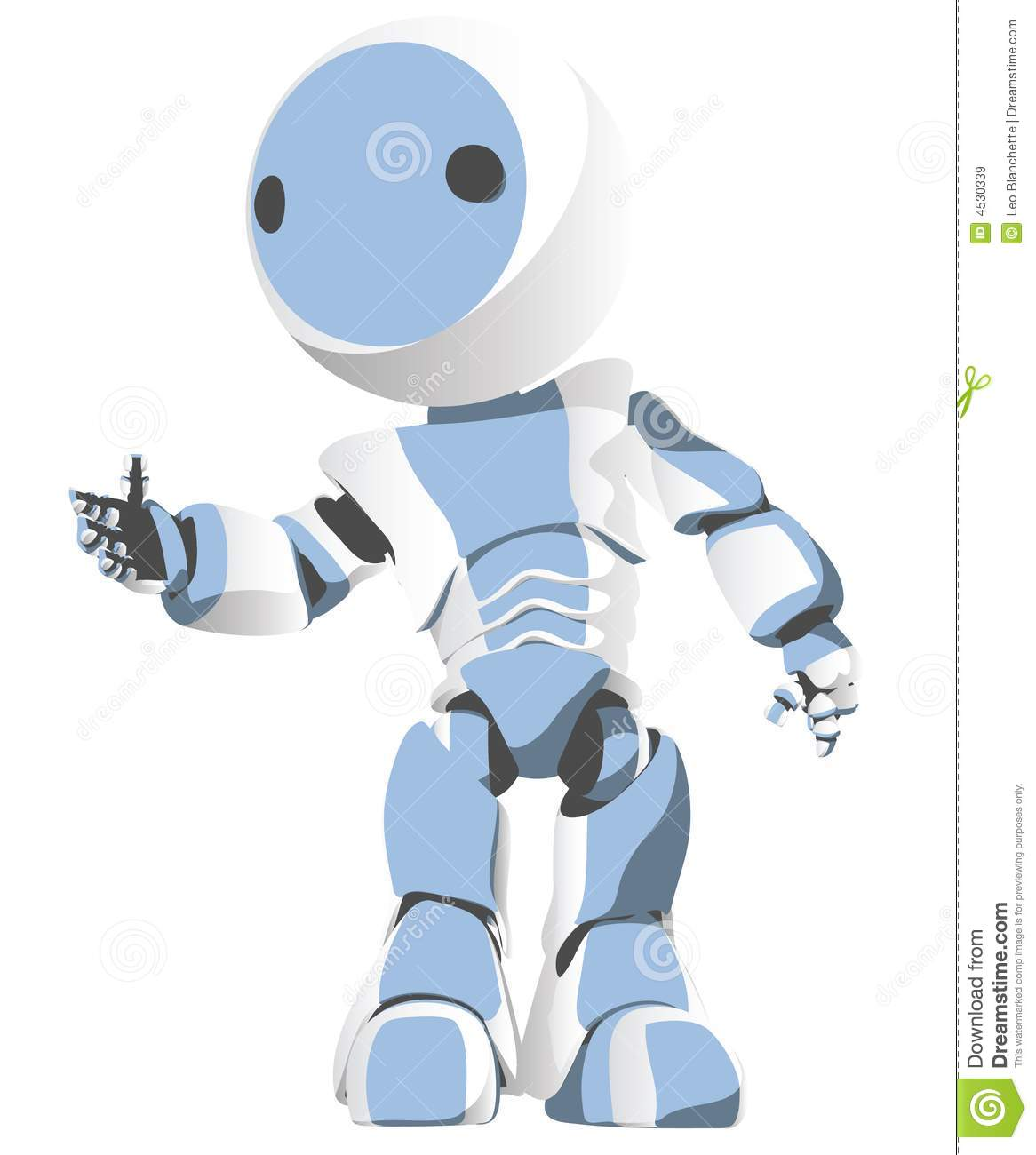 Cartoon Characters As Robots : Robot cartoon character stock vector illustration of
