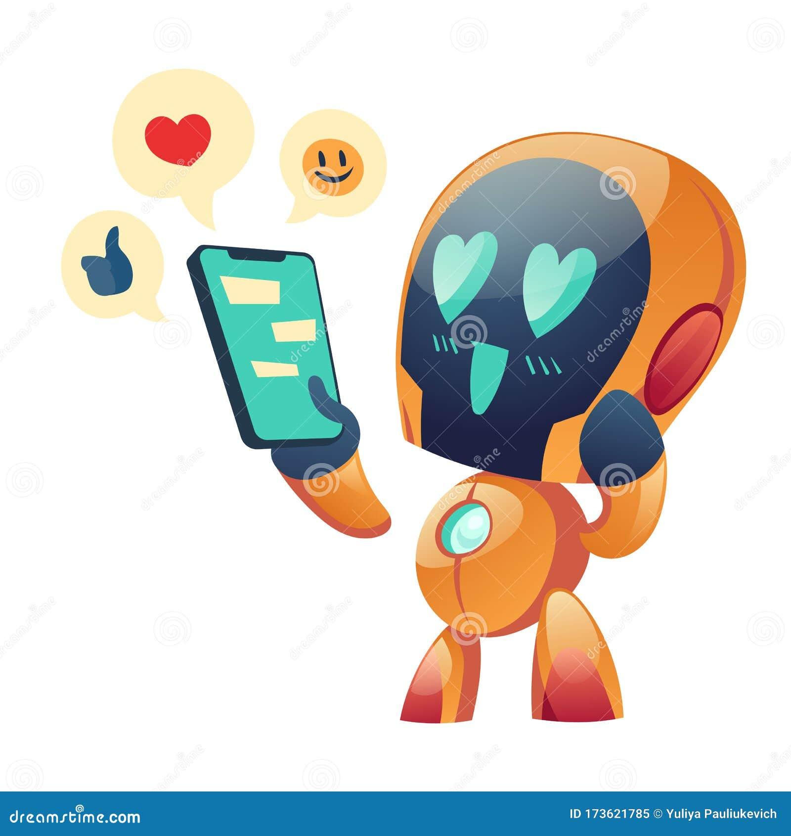 robot dating website)