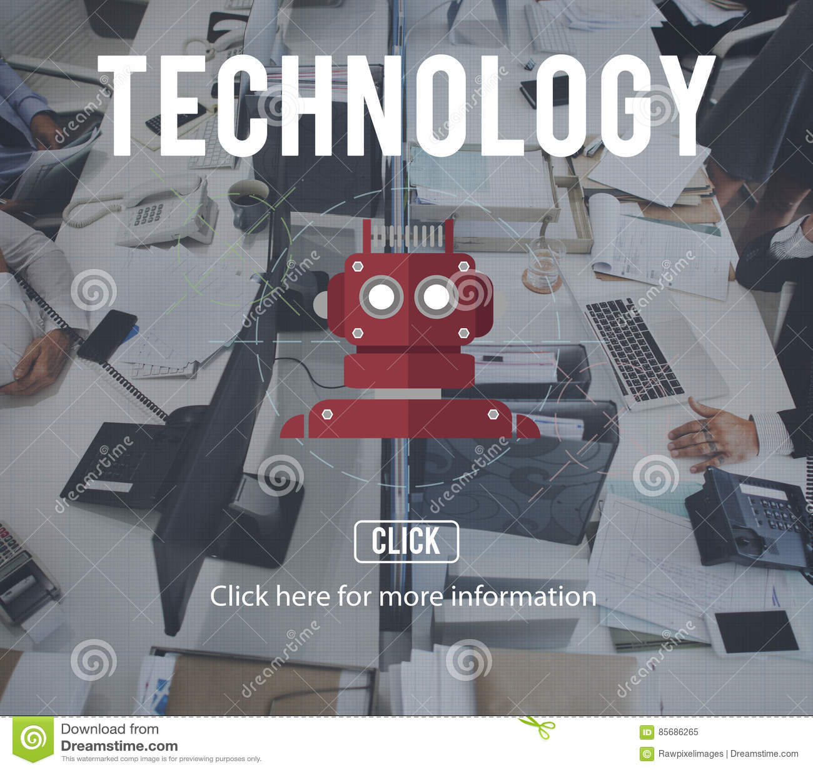Robot Cyborg Ai Robotics Android Concept Stock Image Image Of