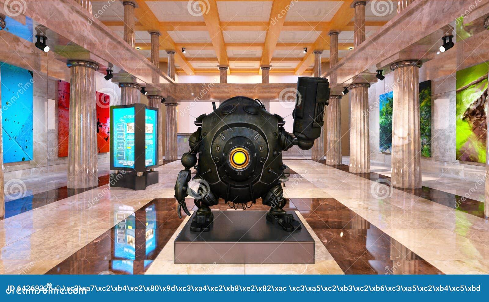 Robot de bataille