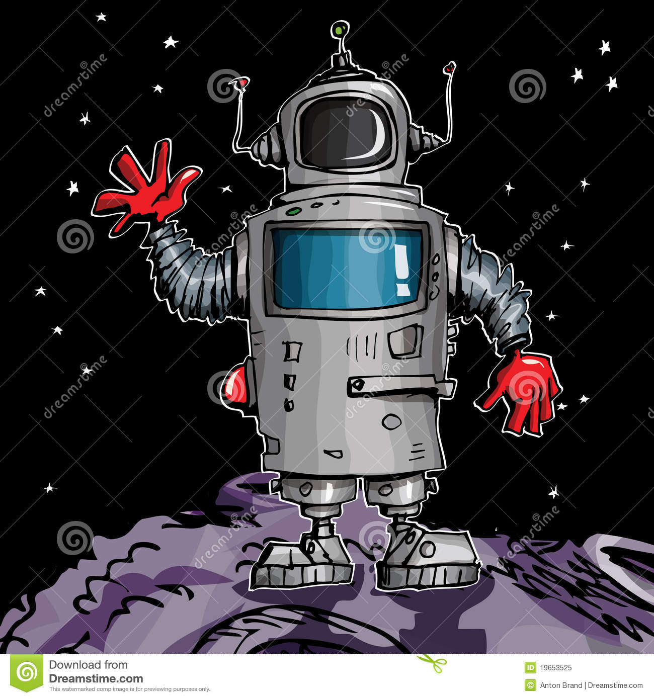 how to make space robots