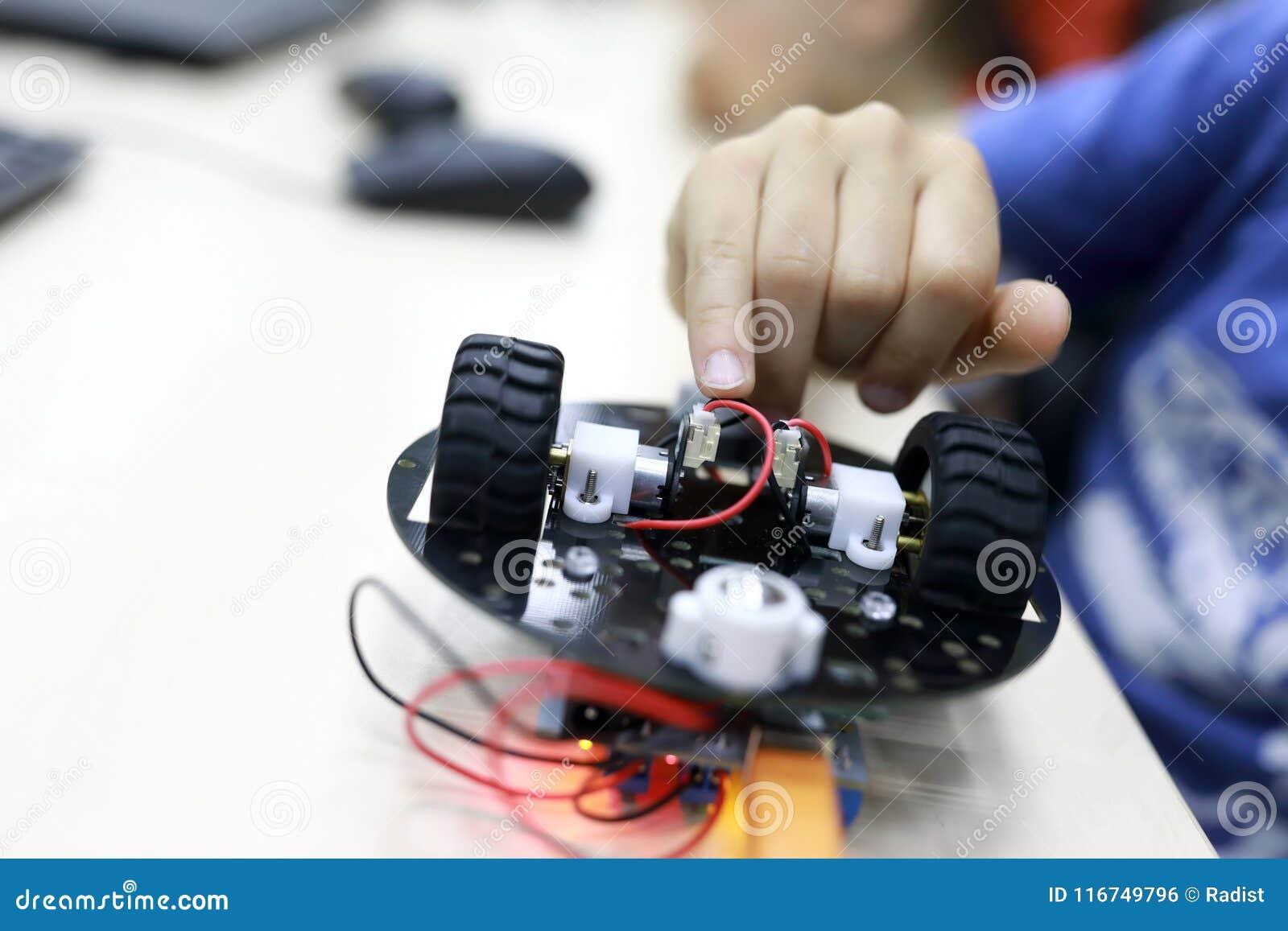 Robot de programación de la persona