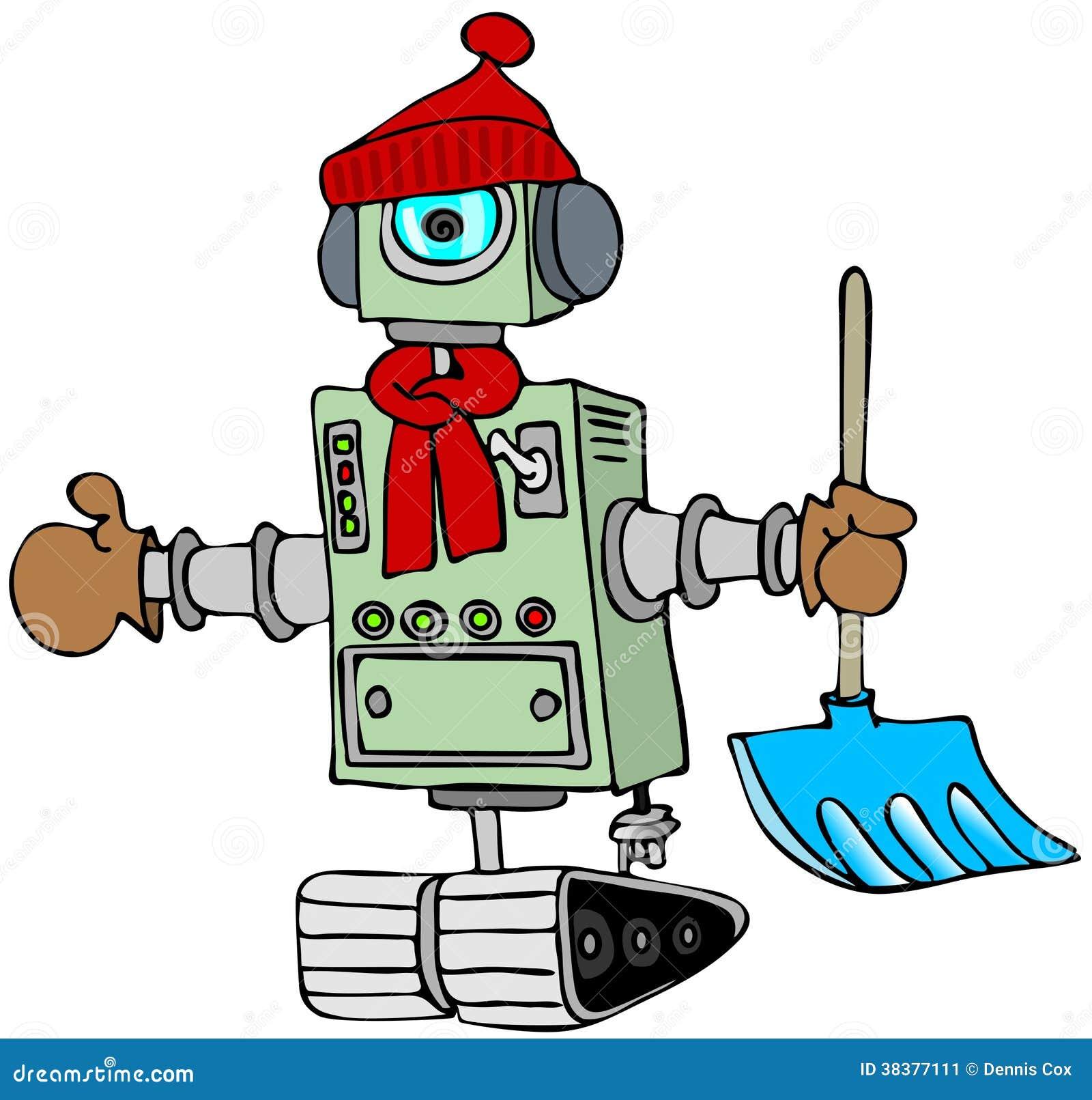 Robot del invierno