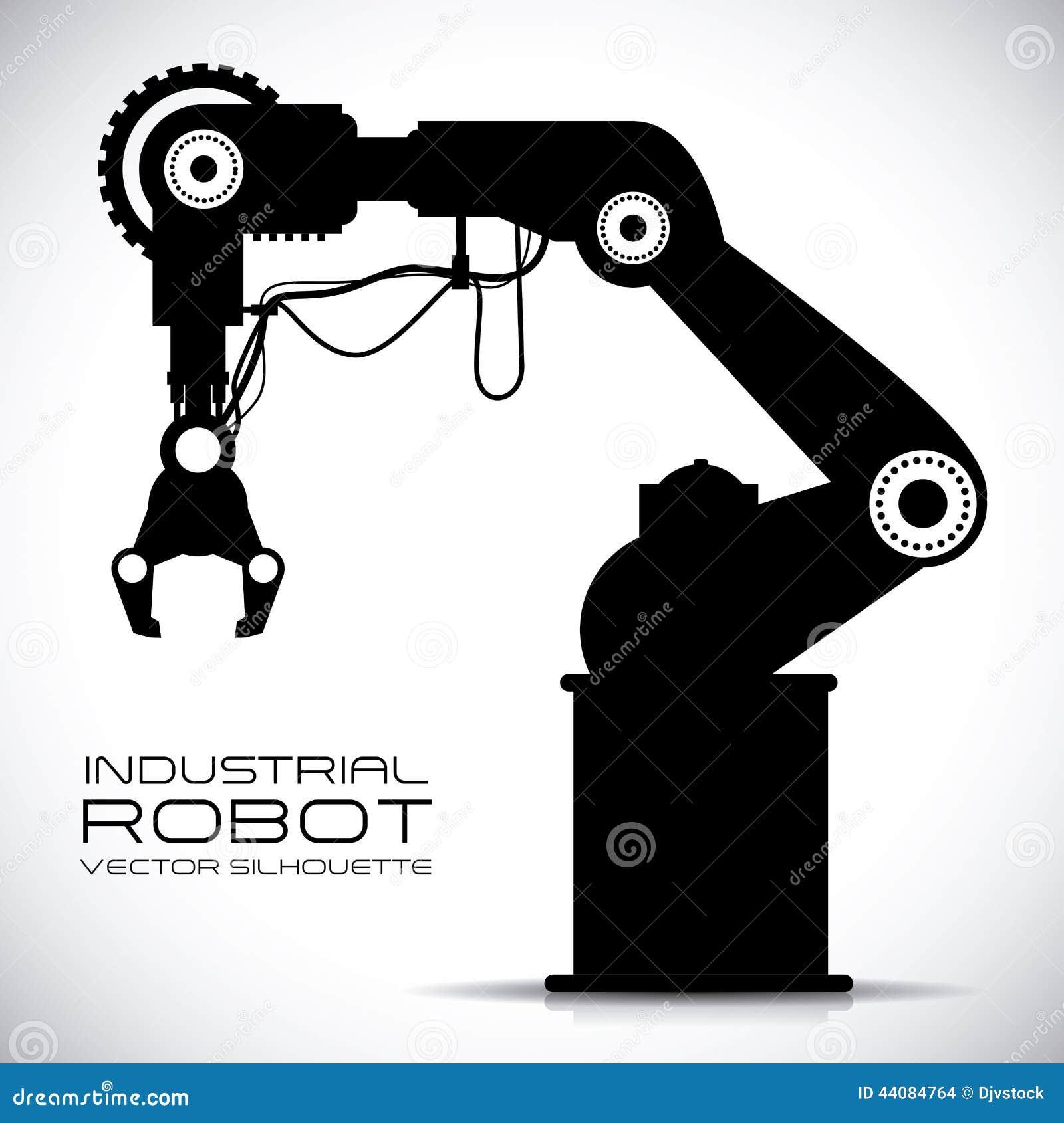 Robot Design Stock Vector Illustration Of Humanoid Icon 44084764