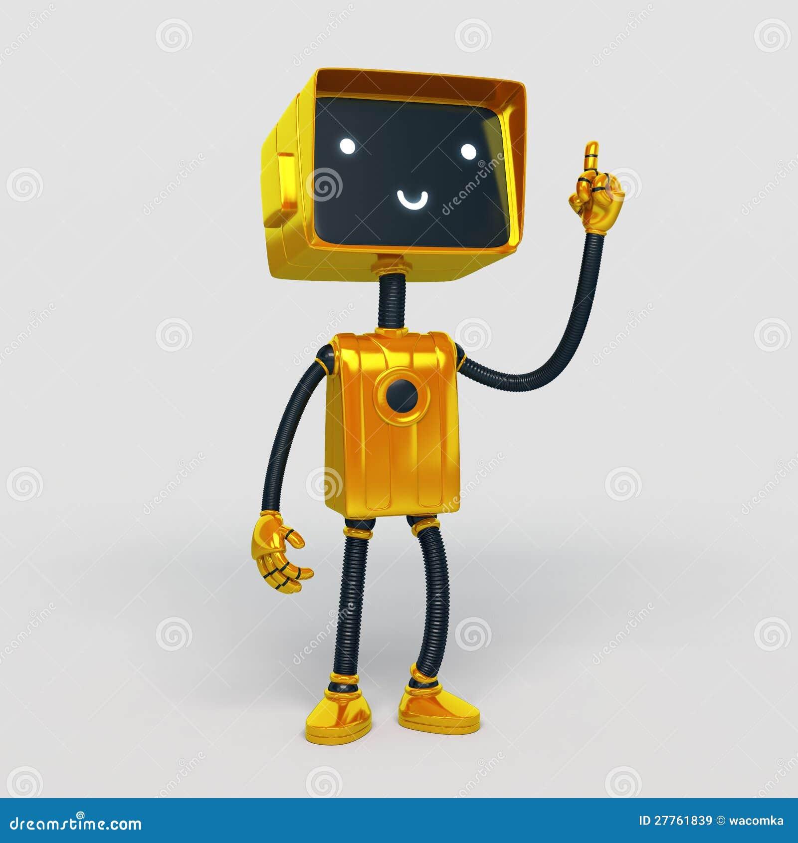 Robot drôle