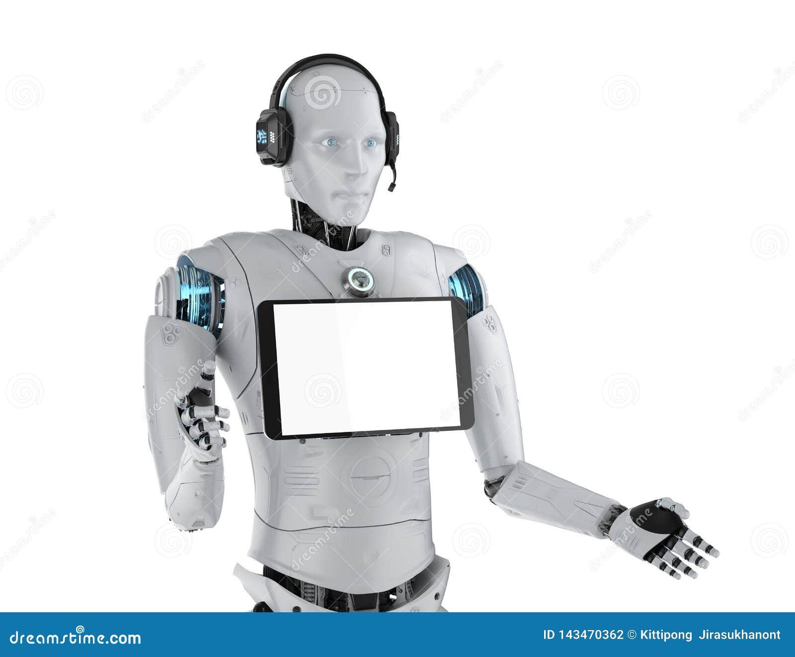 Robot hulpconcept
