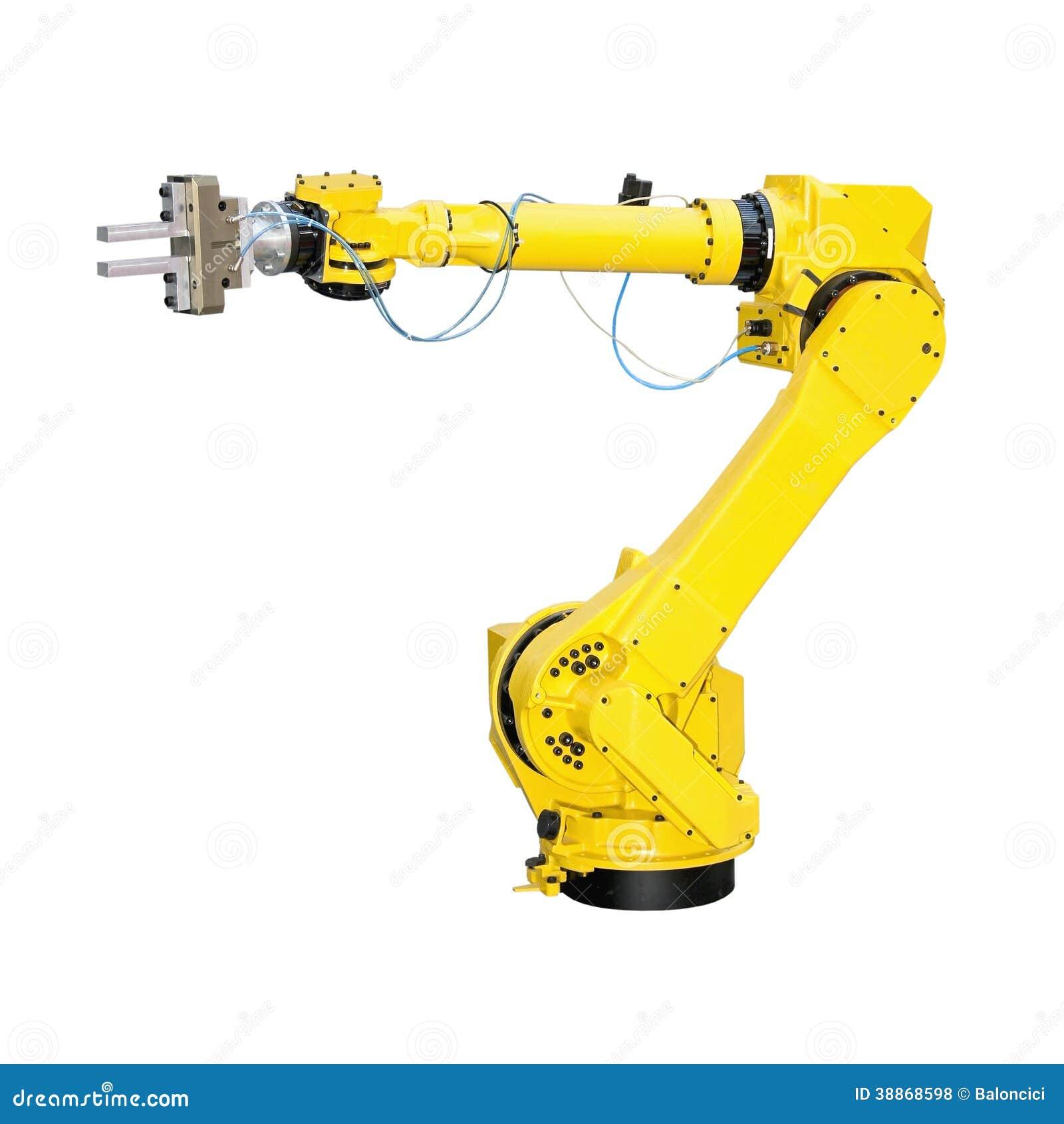 Extrêmement Robot Industriel Photo stock - Image: 38868598 DS99