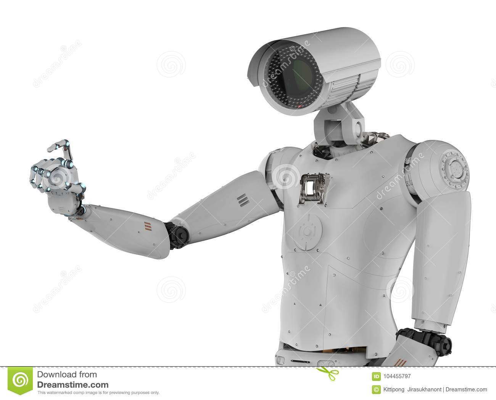 Robot kamera bezpieczeństwa