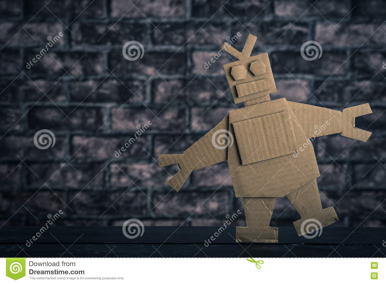 Robot made of paper