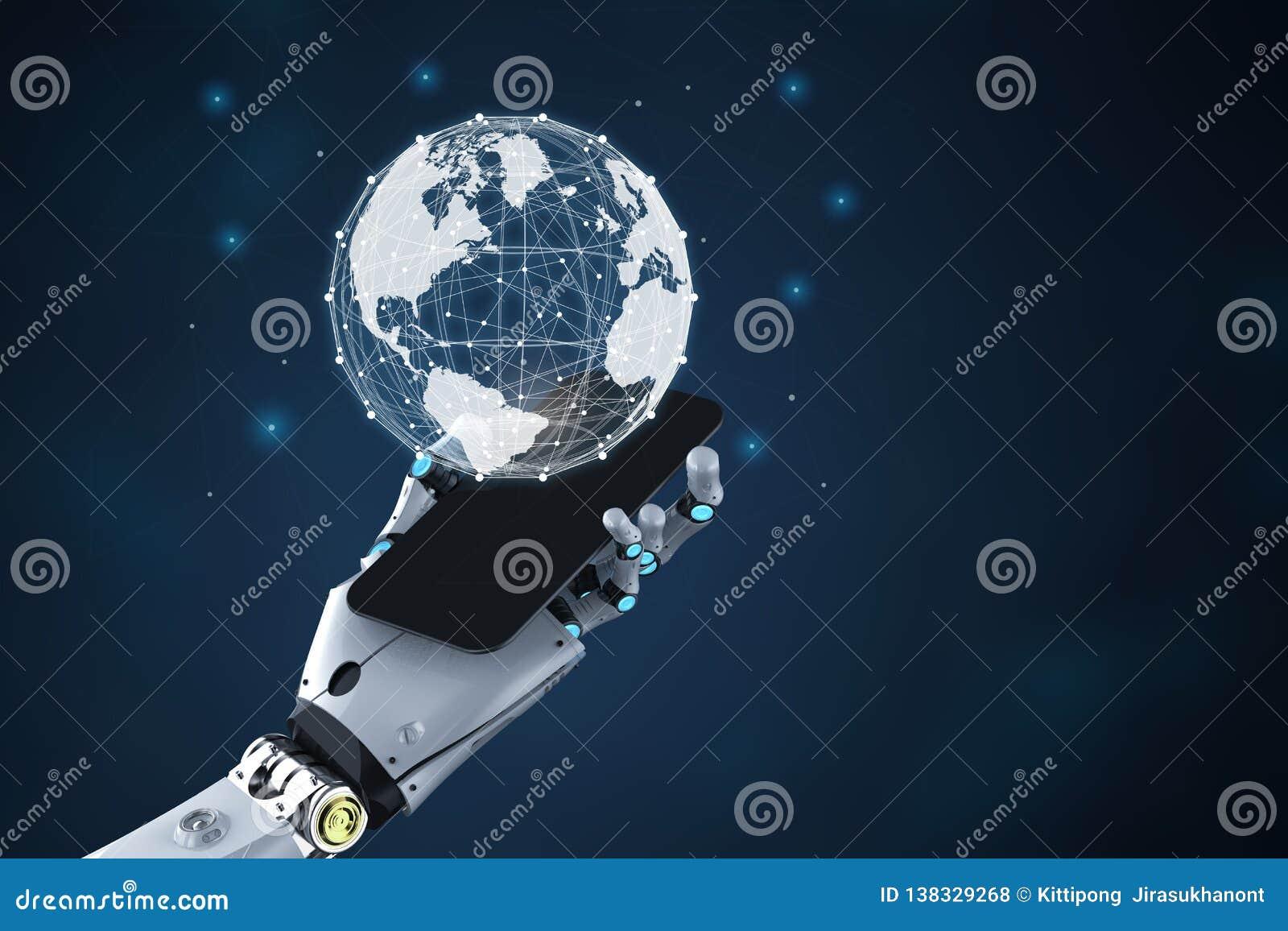 Robot med global anslutning