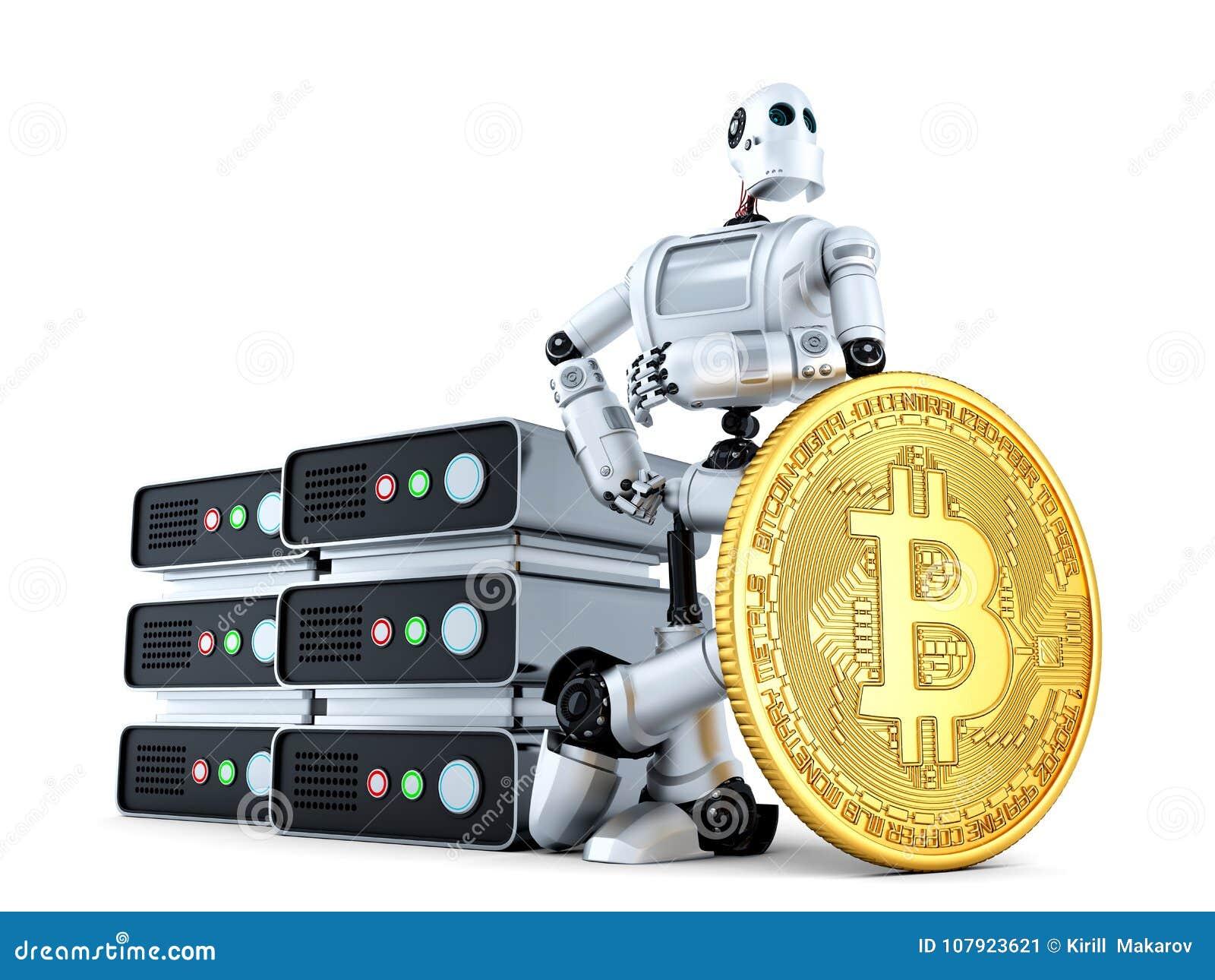 robot bitcoin)