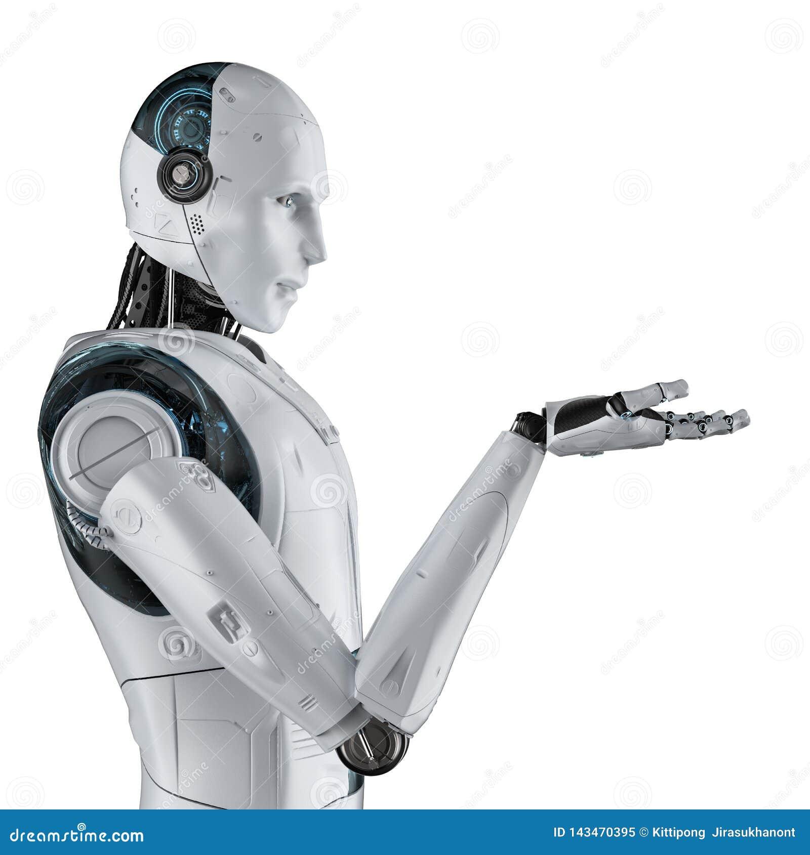 Robot open hand