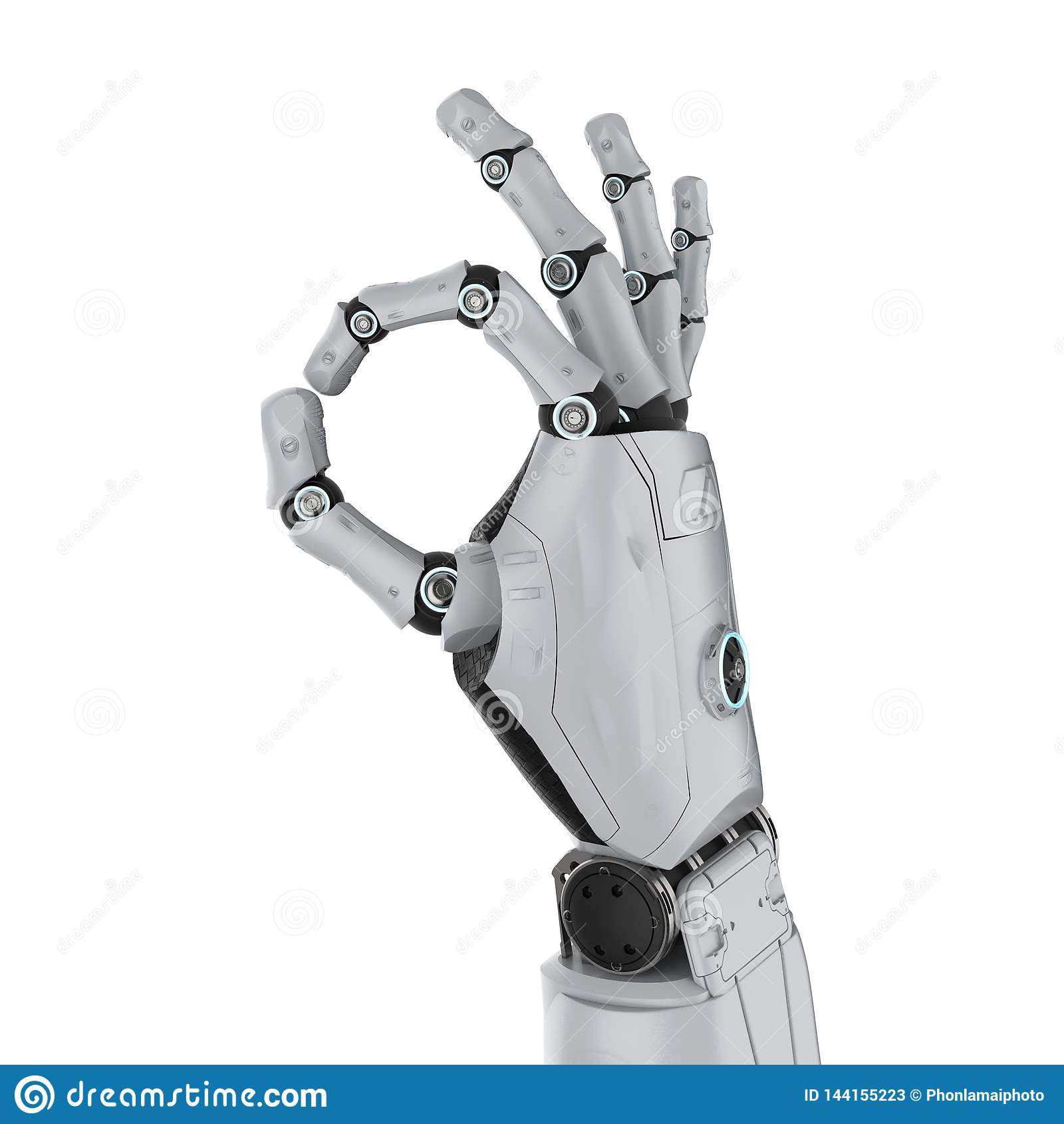 Robot ręki ok