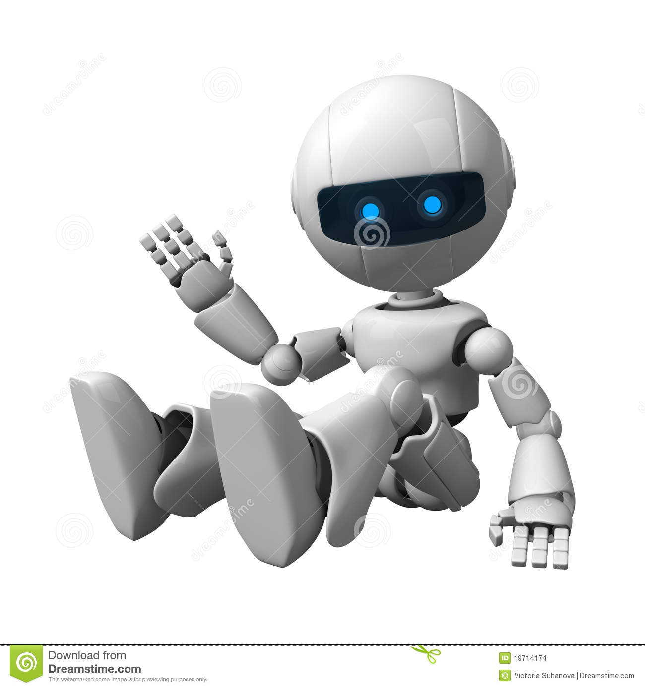 robot sitting stock images image 19714174 robot clipart images robot clipart border
