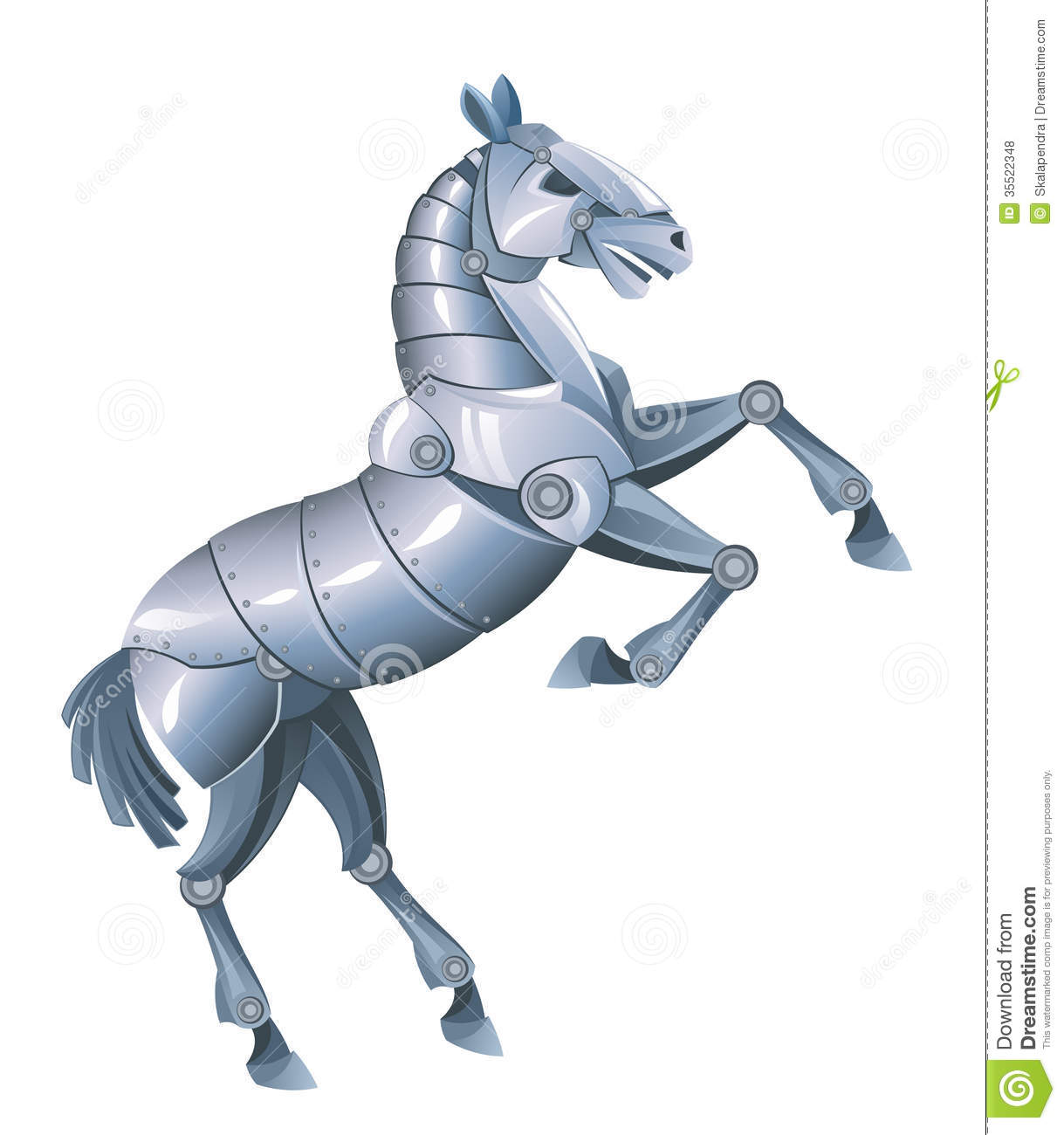 robot steed royalty free stock photos image 35522348 horse clipart pictures horse clipart pictures