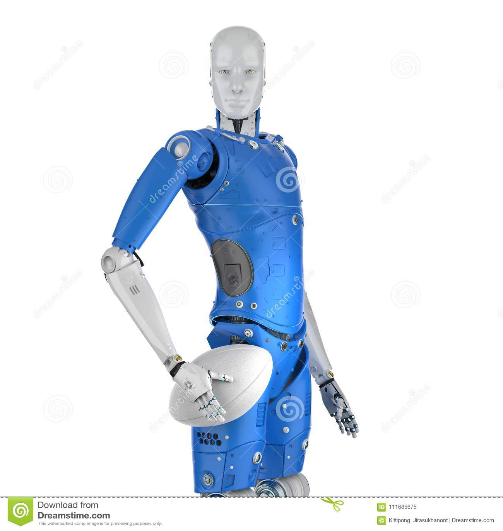 Robot sztuki rugby