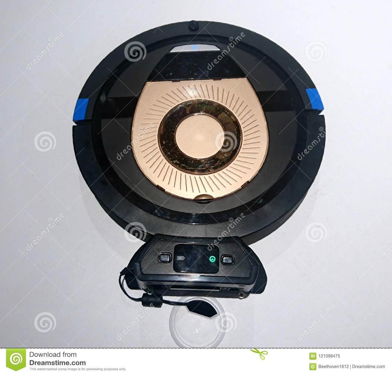 Robot Vacuum Cleaner stock image  Image of programming - 121098475