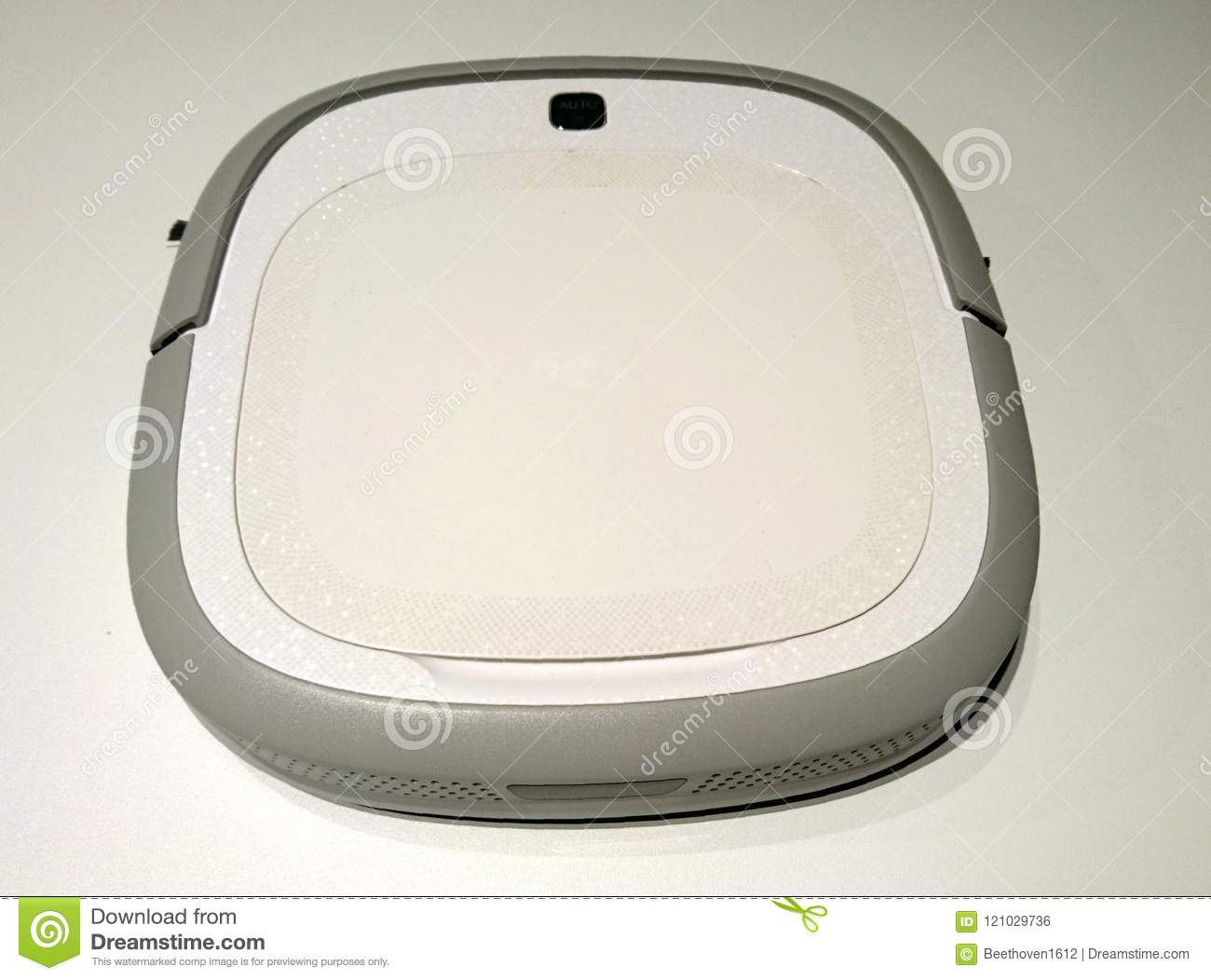 Robot Vacuum Cleaner stock photo  Image of automatic - 121029736