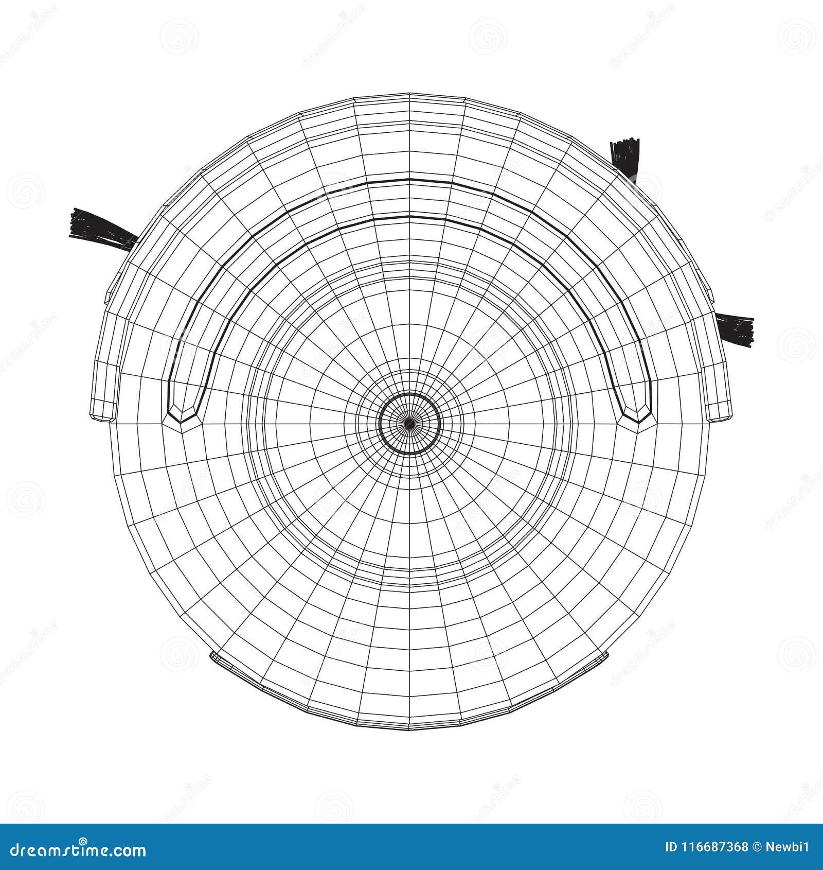 smart vacuum diagram
