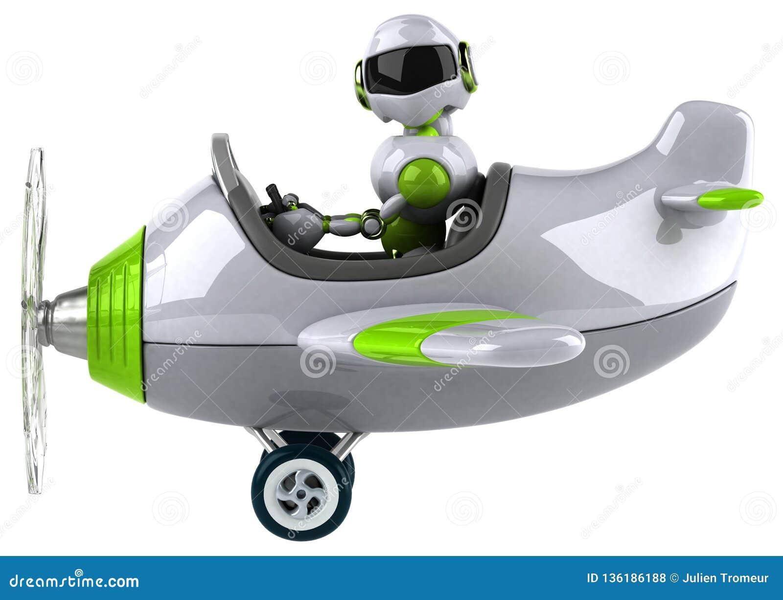 Robot verde - ejemplo 3D