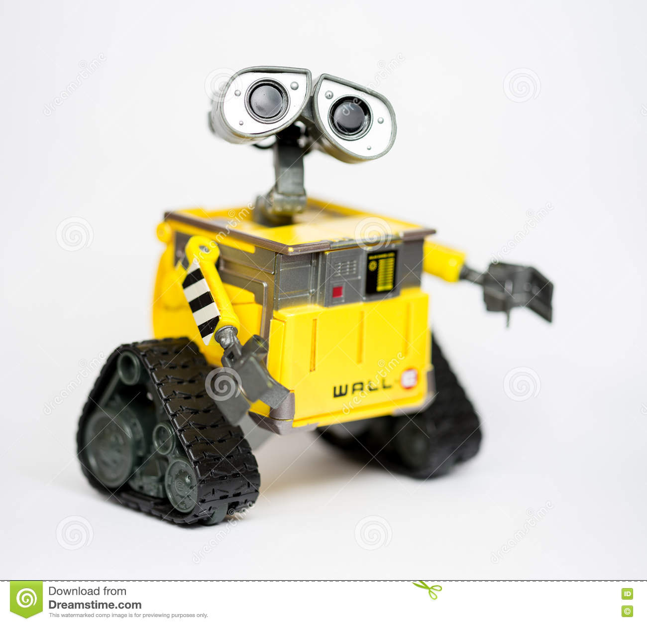 Robot Wall-E From Pixar And Disney Movie Editorial Stock Photo ...