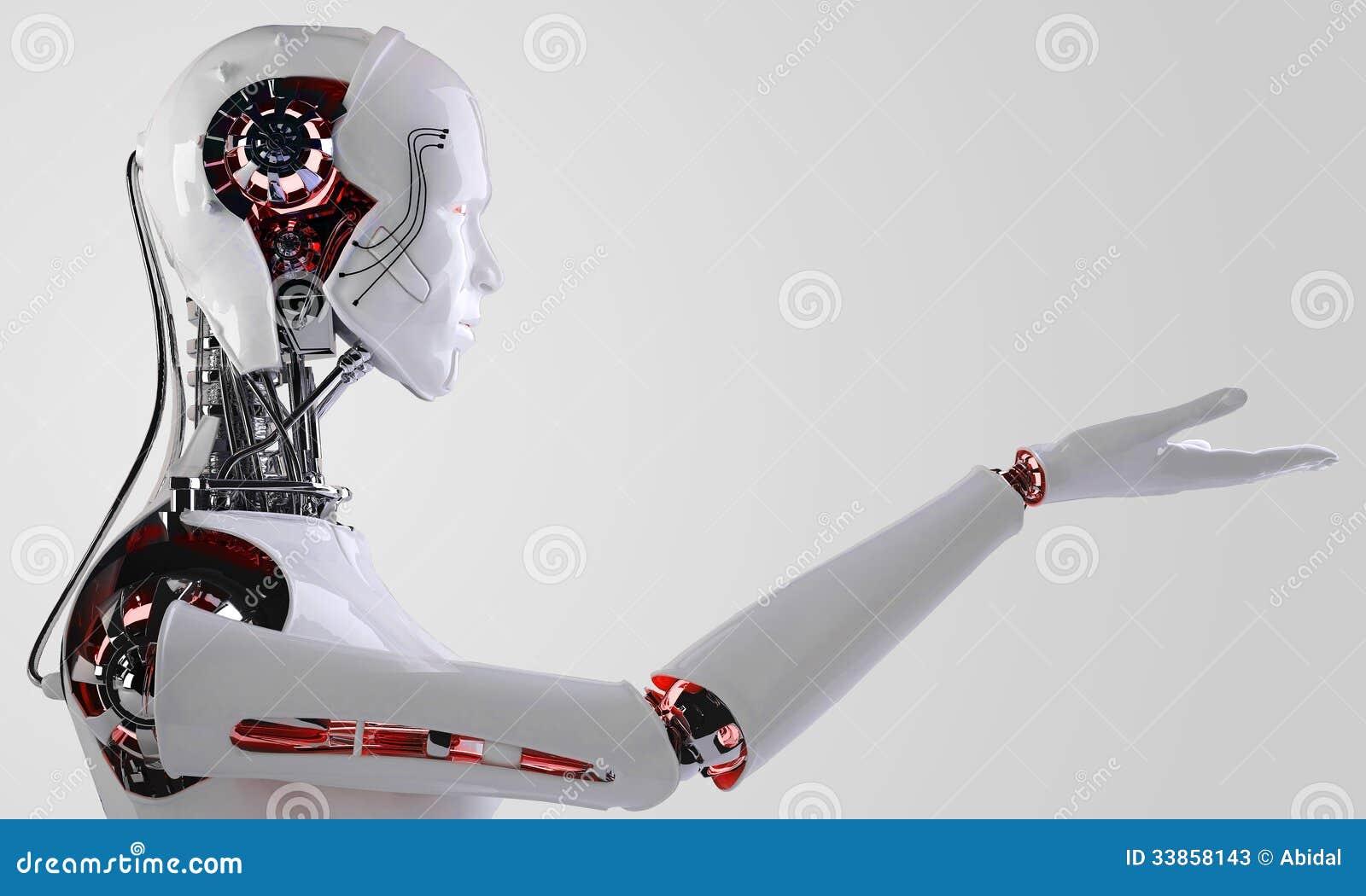 Robota androidu mężczyzna
