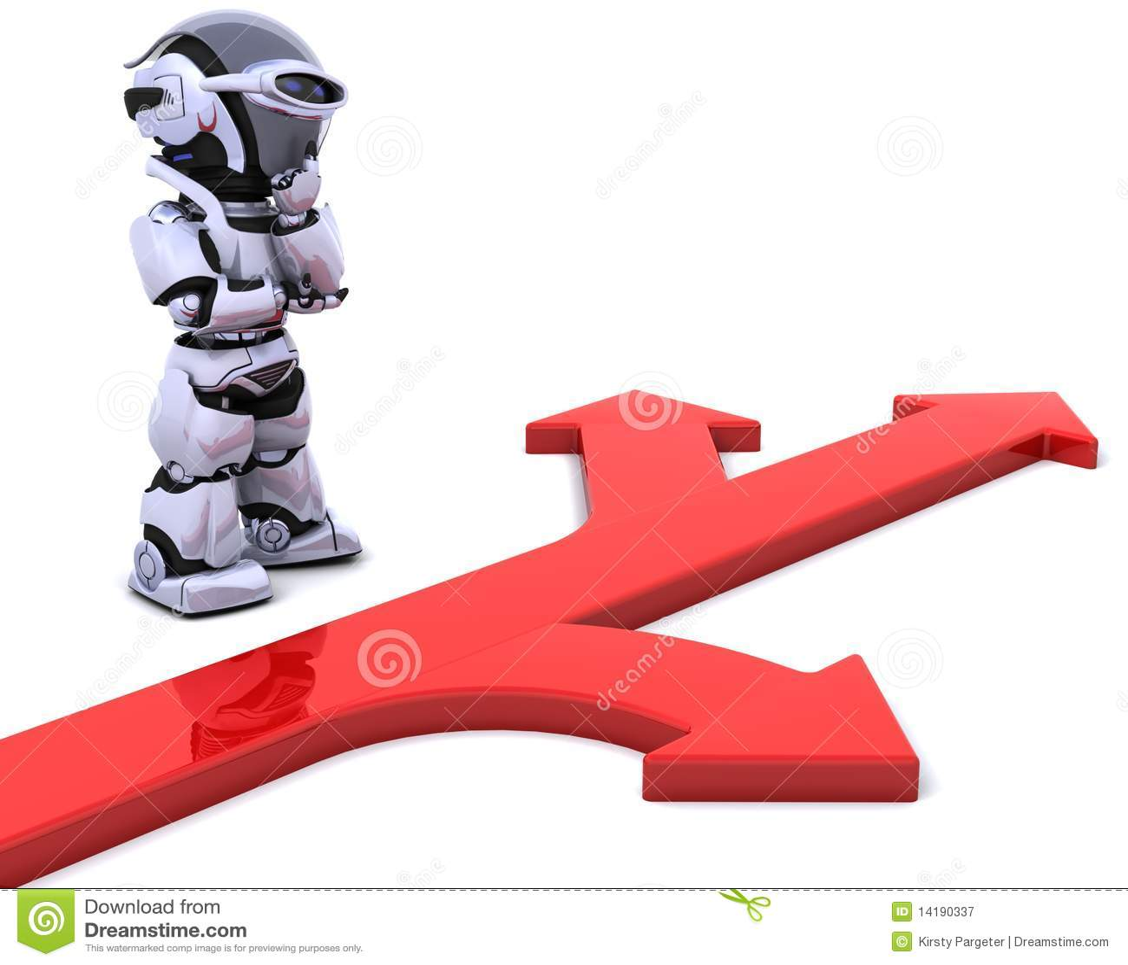 Robota strzałkowaty symbol