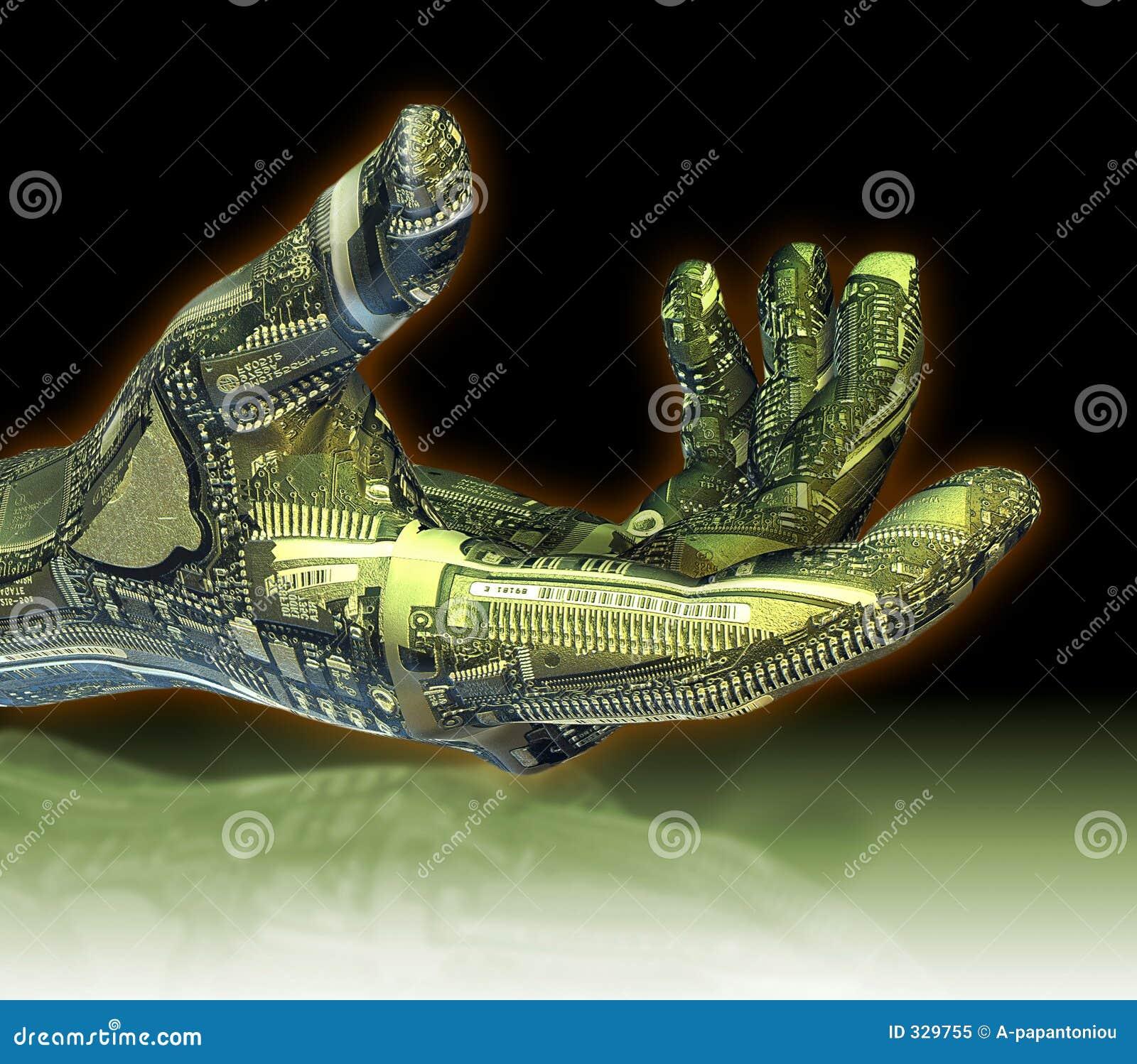 Robotachtige Hand