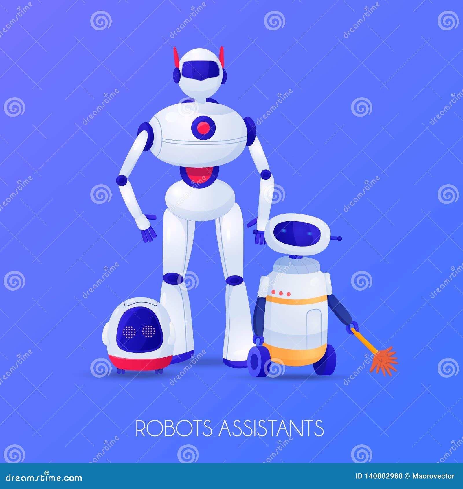 Robotassistentillustration