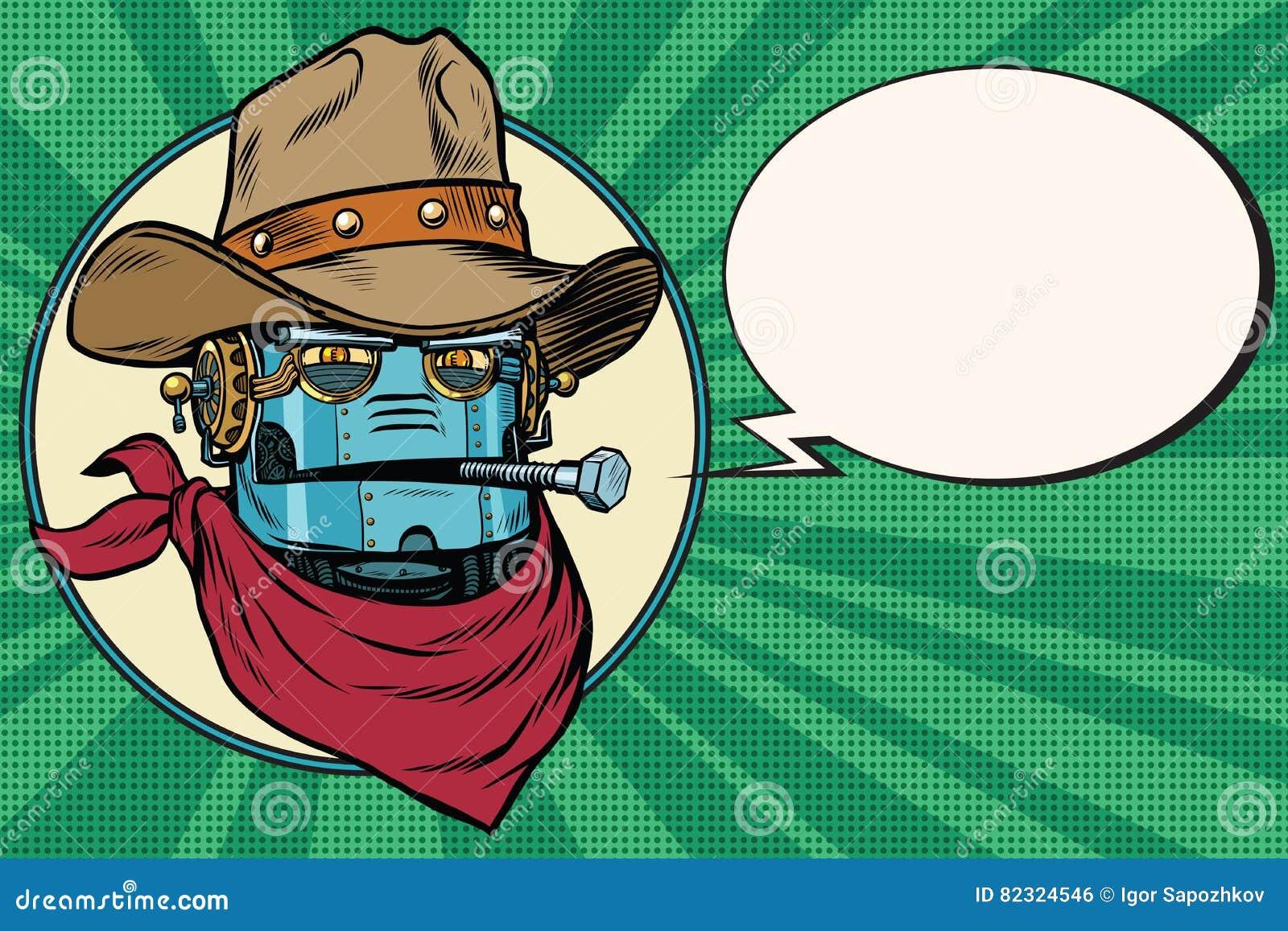 RobotcowboyWest lös värld