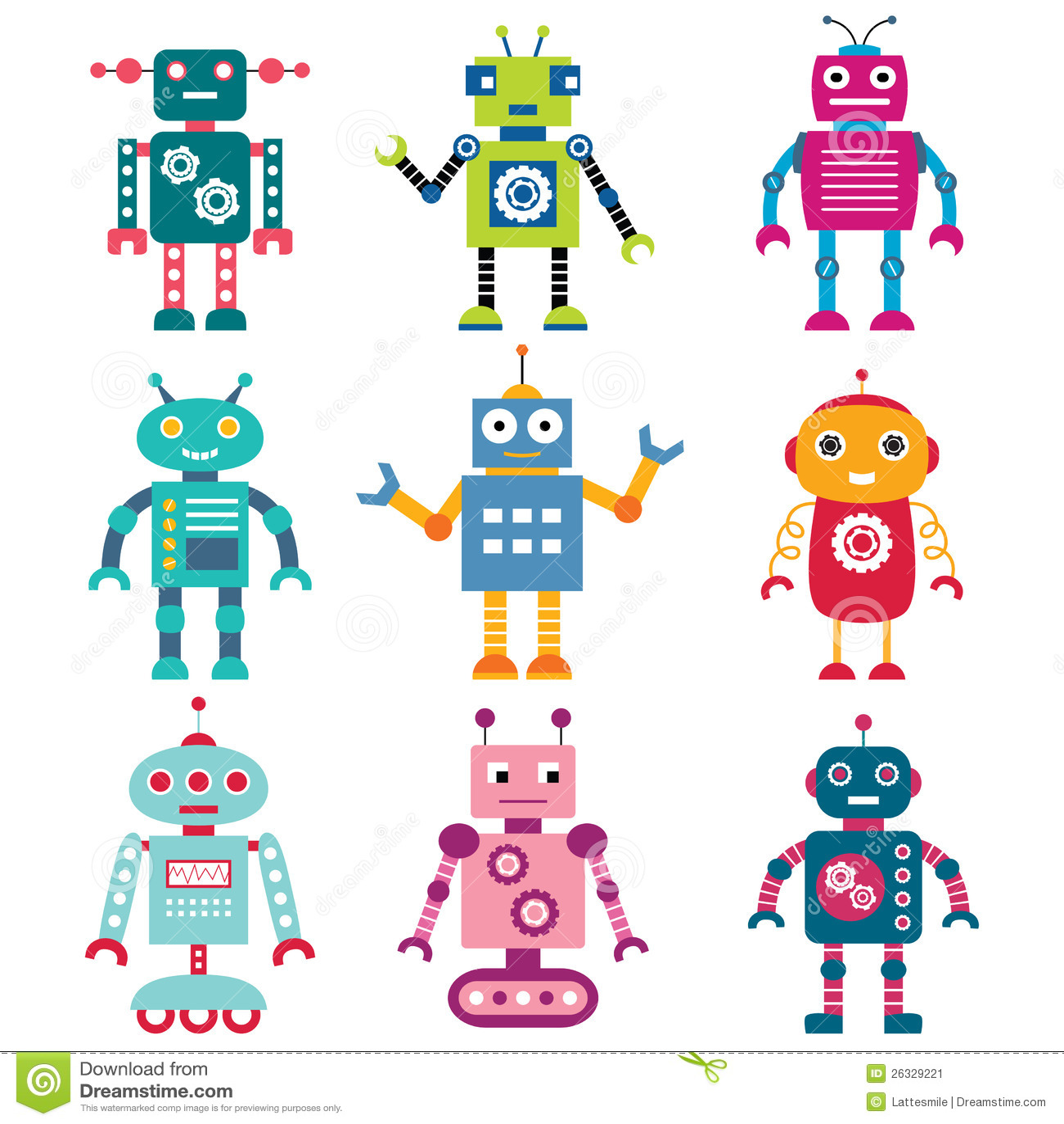 Roboter eingestellt
