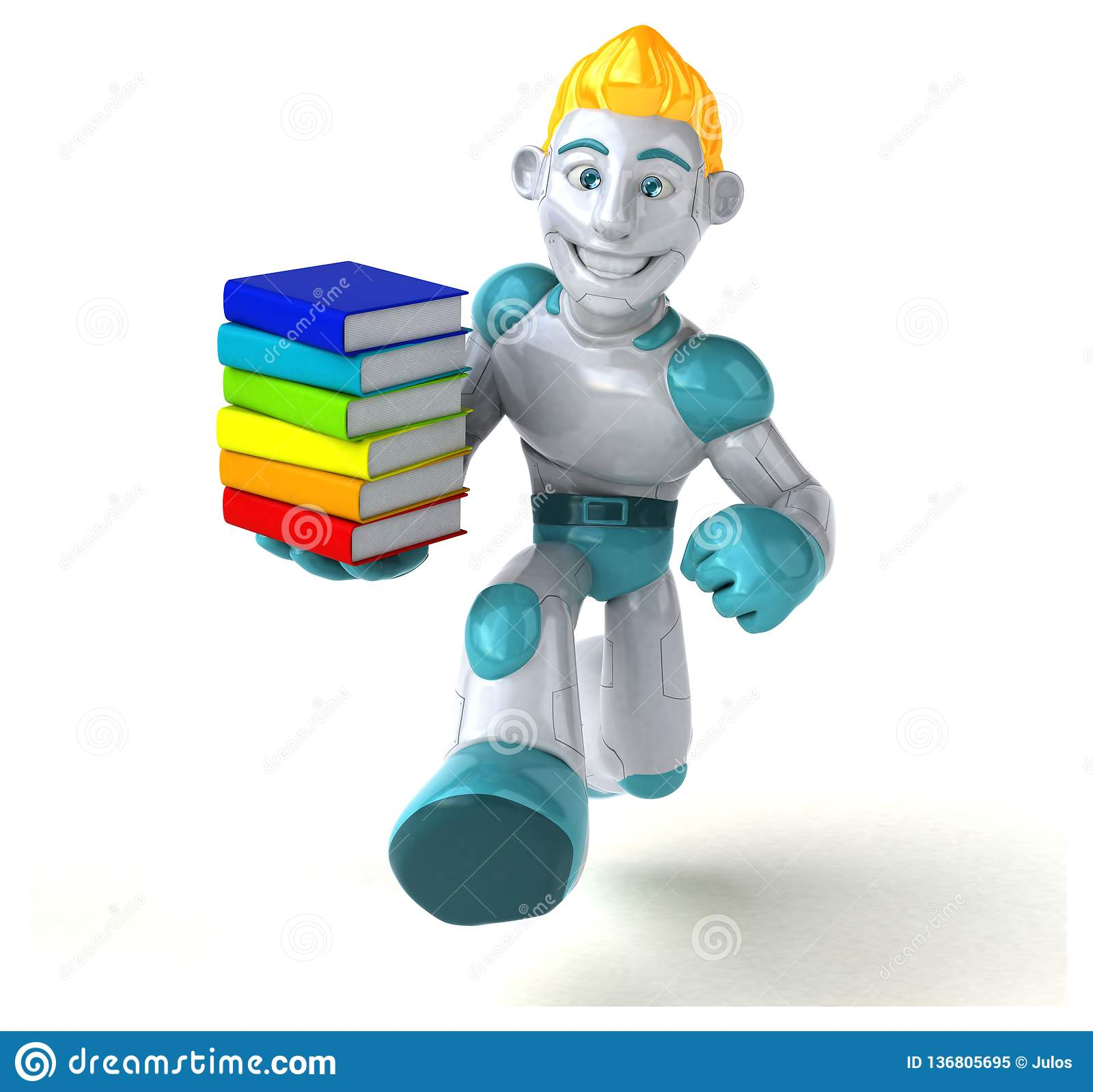 Roboter - Illustration 3D