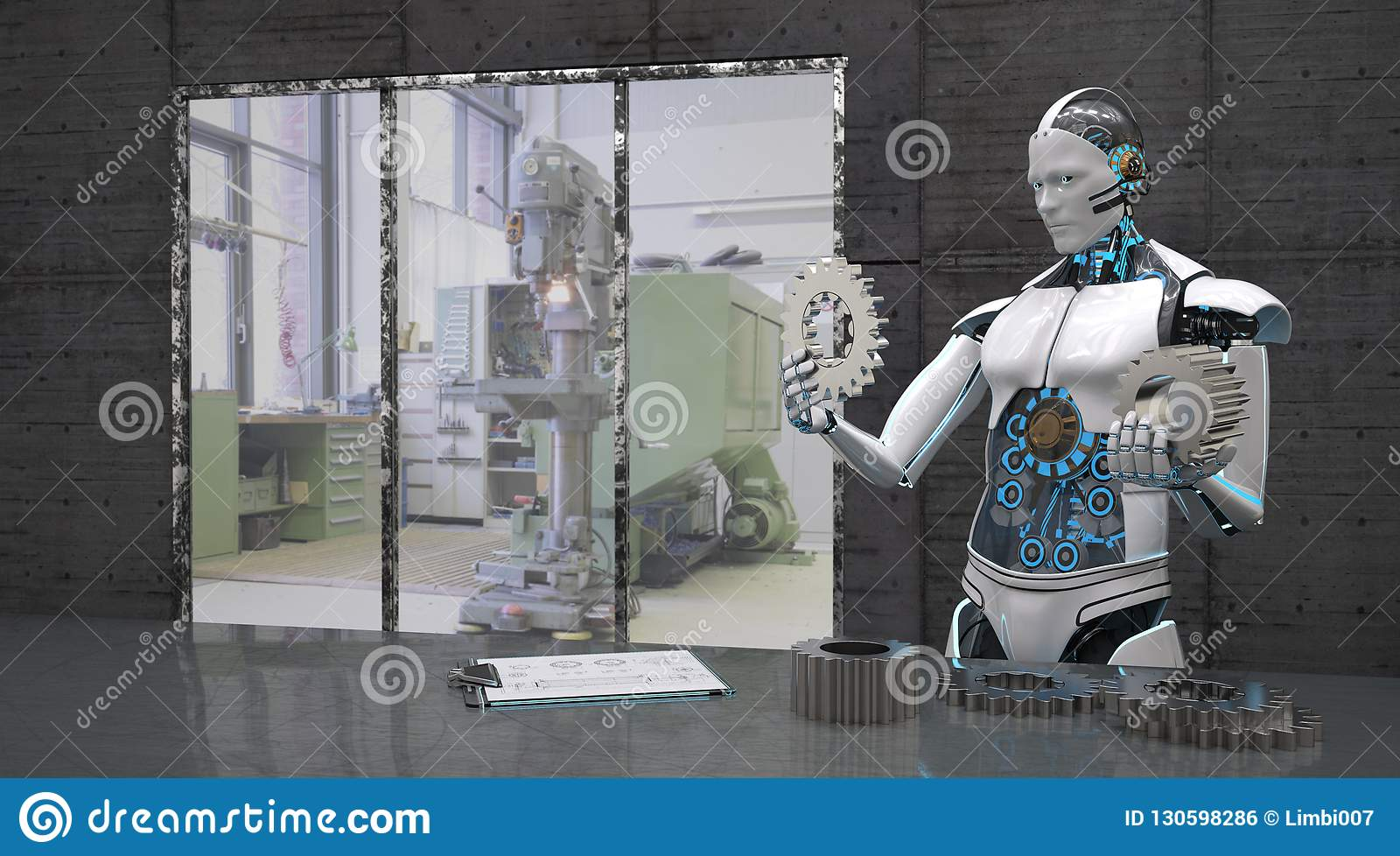 Roboter mit Gangrädern