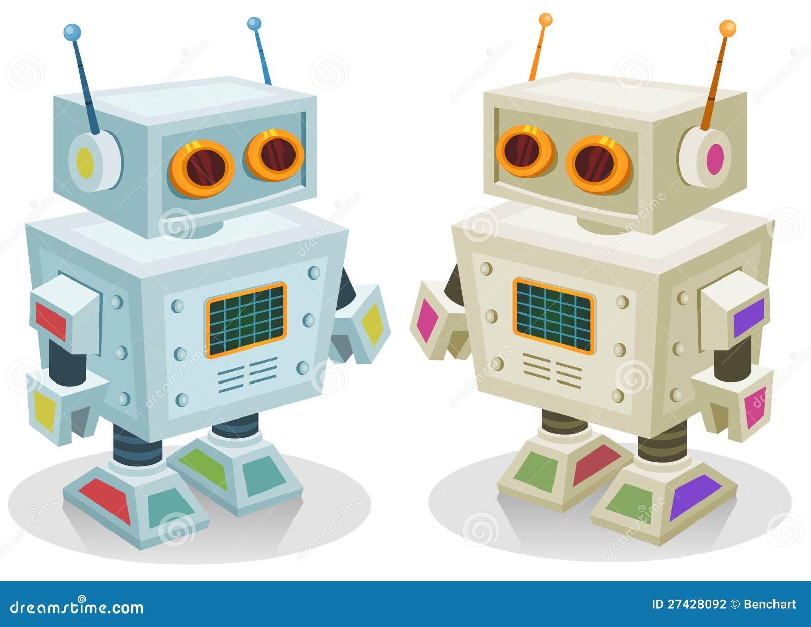 Roboter spielzeug für kinder stockfotografie bild