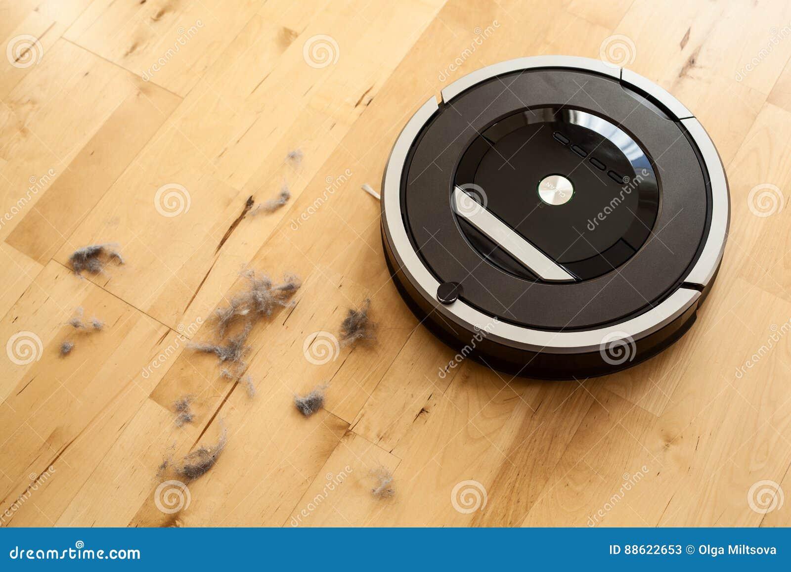 Holzfußboden Reinigen ~ Roboterstaubsauger auf der intelligenten reinigung des