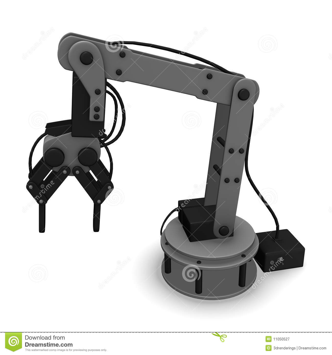 robotic arm royalty free stock photography