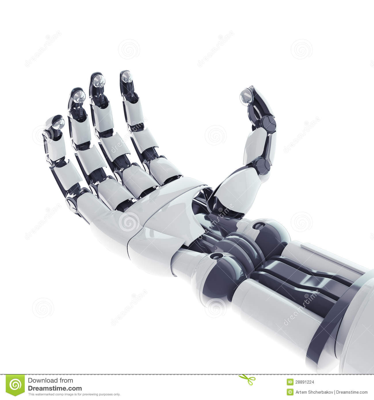 Robotic Arm Stock Images - Image: 28891224