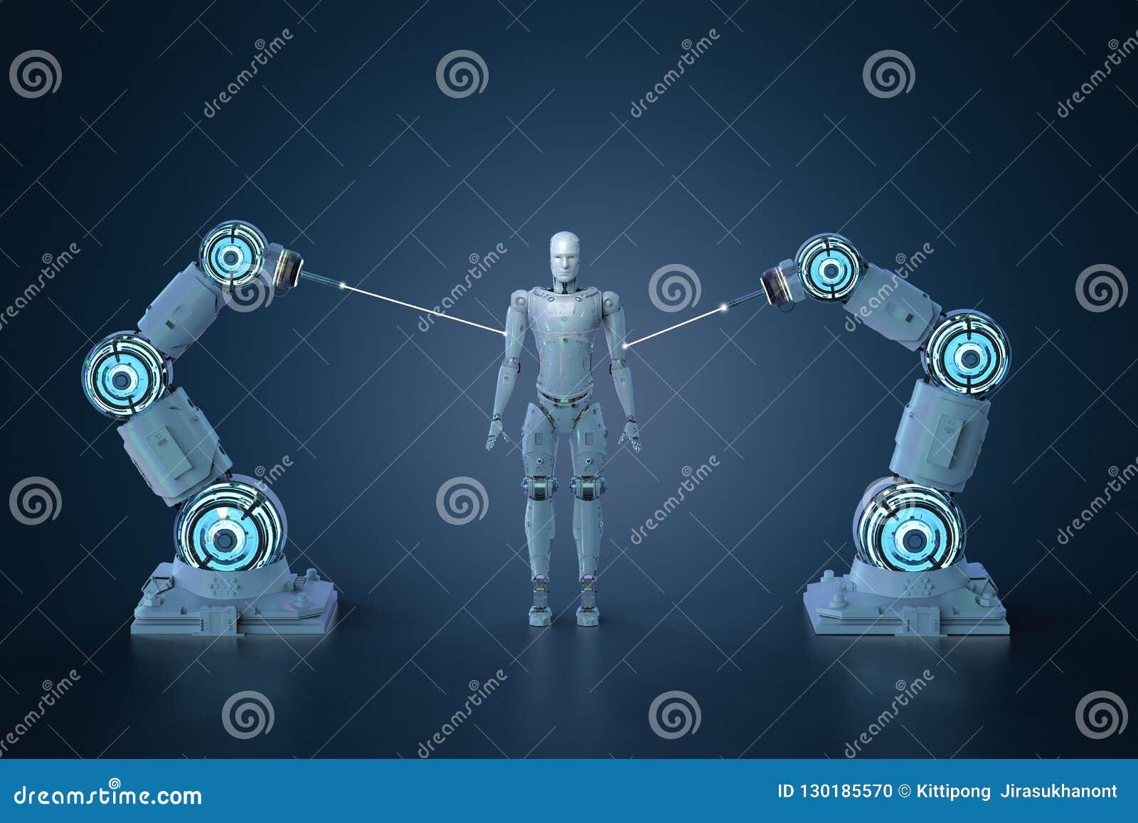 Robotic armenhet