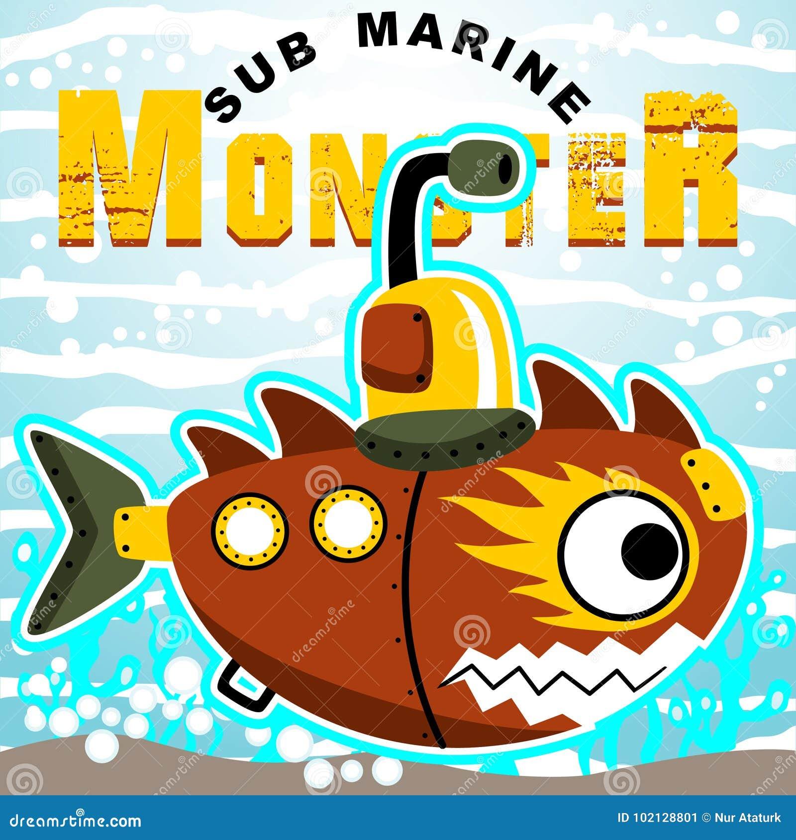 Robotic ubåt