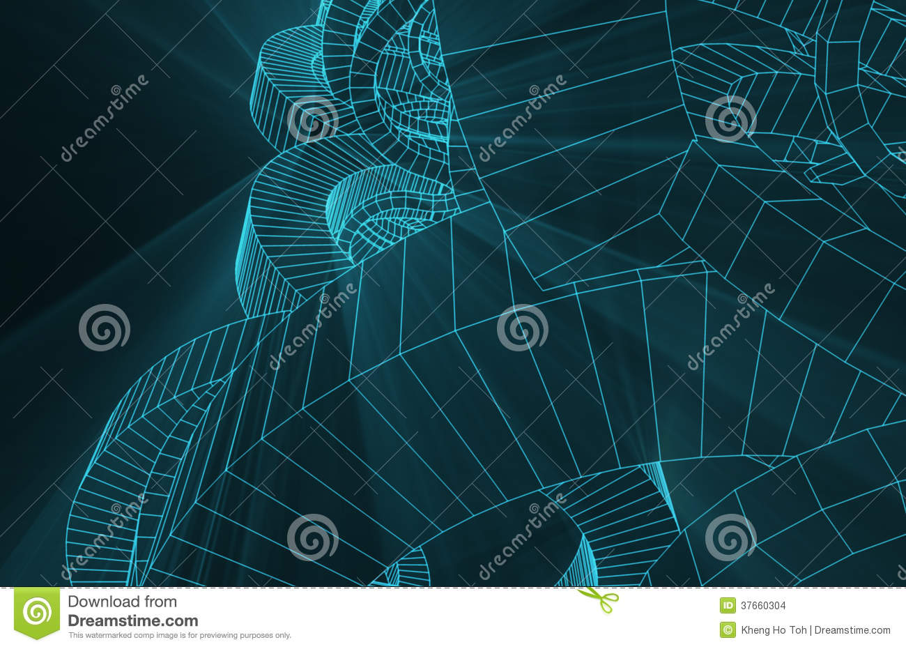 robotic wire mesh background stock images
